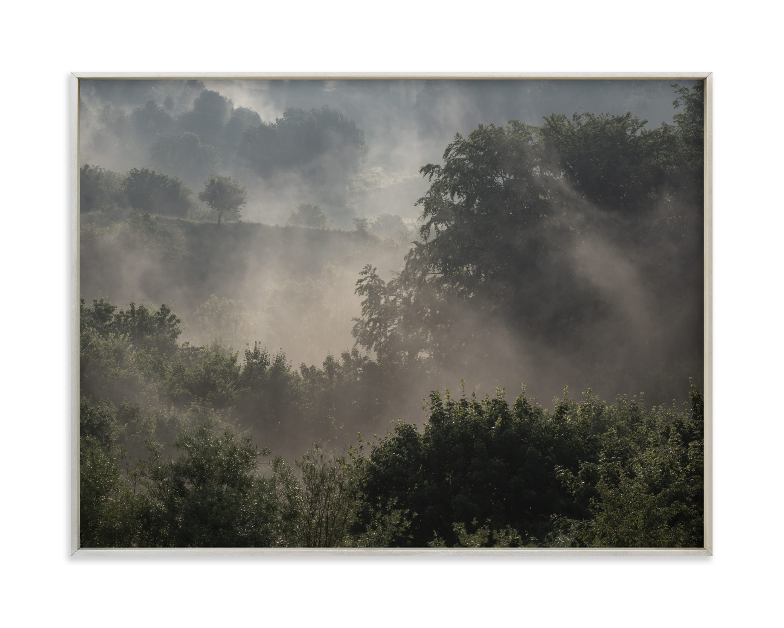 """""""Summer sunrise II"""" by Lying on the grass in beautiful frame options and a variety of sizes."""