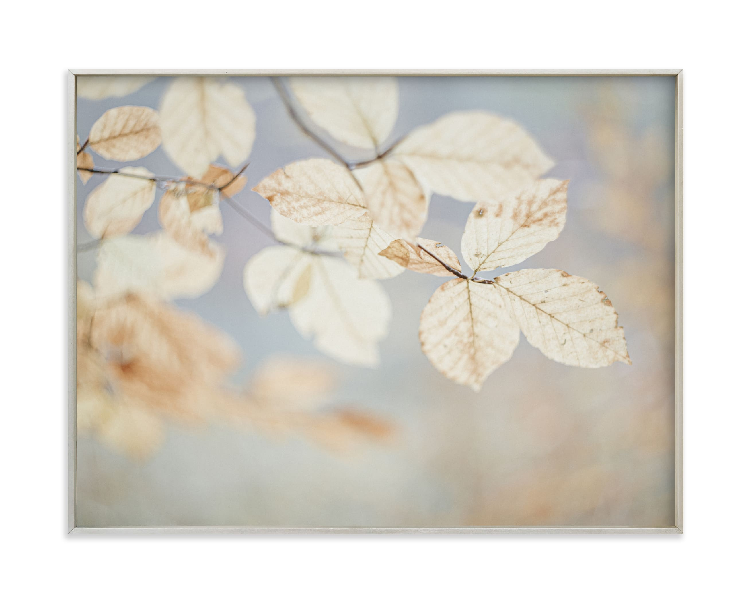 """""""The dance of the leaves I"""" by Lying on the grass in beautiful frame options and a variety of sizes."""