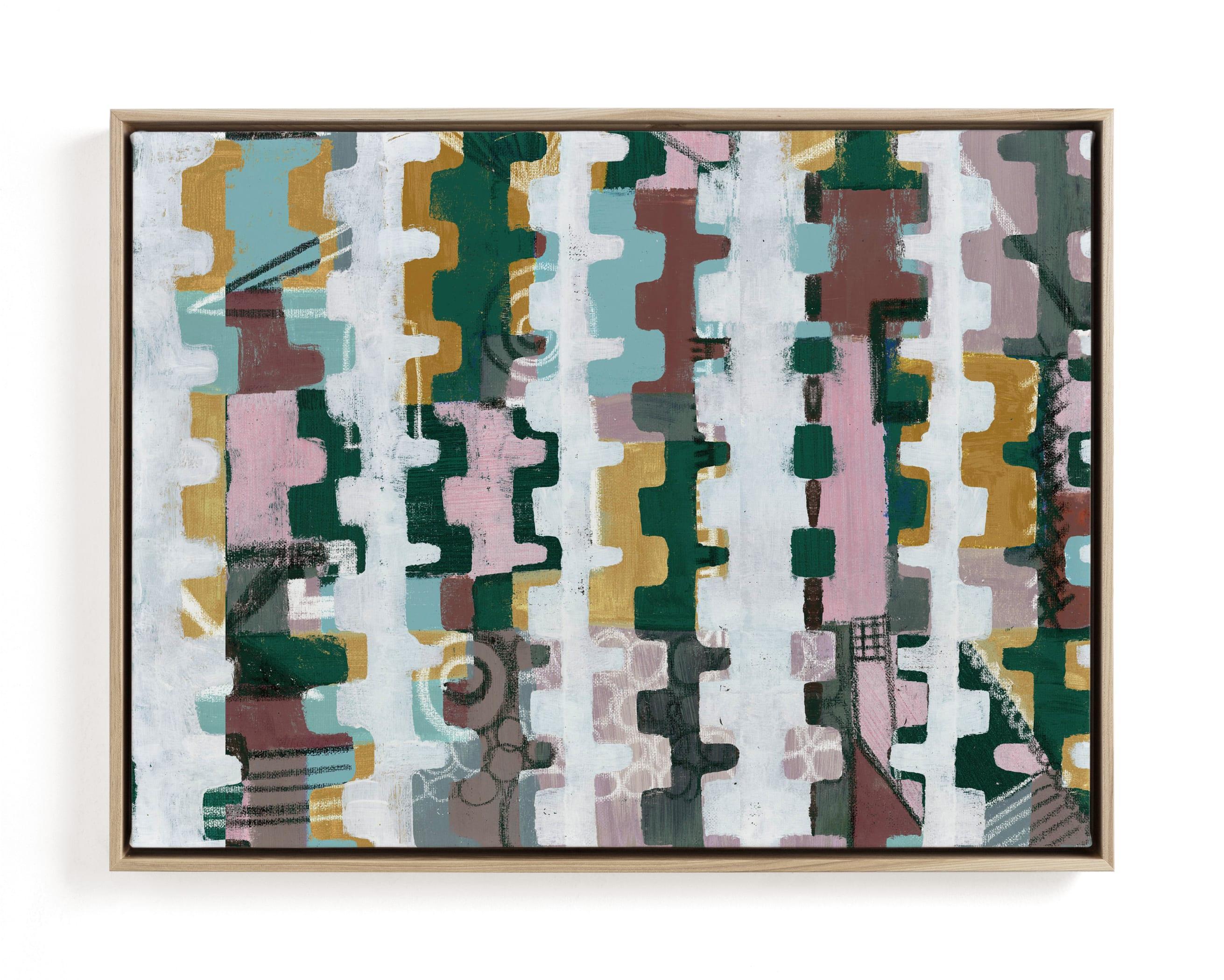 Assemblage II Wall Art Print