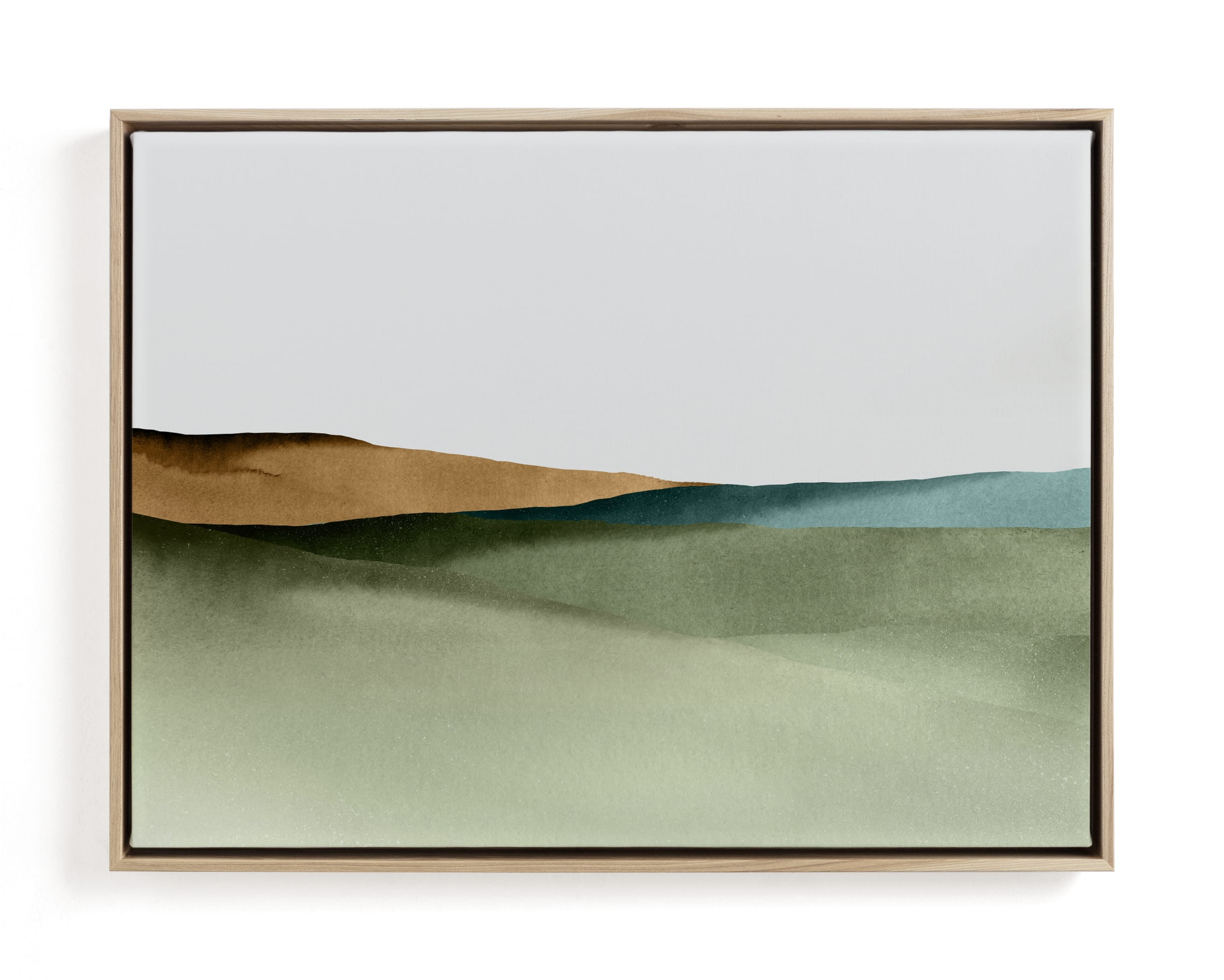 Rolling Fields Art Print