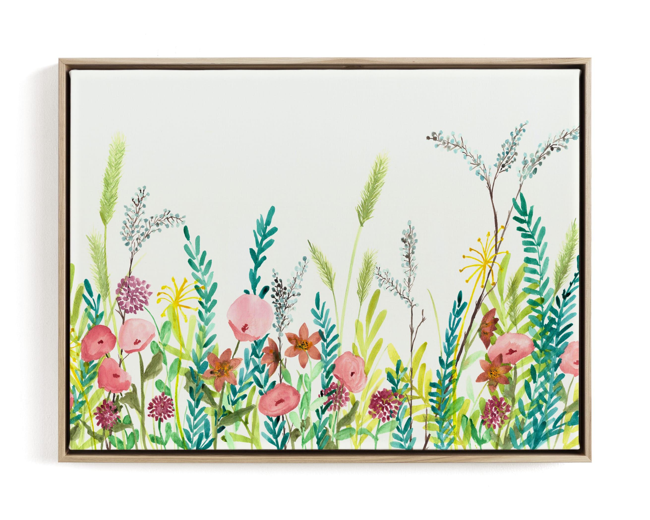 Wildflower and Free Children's Art Print