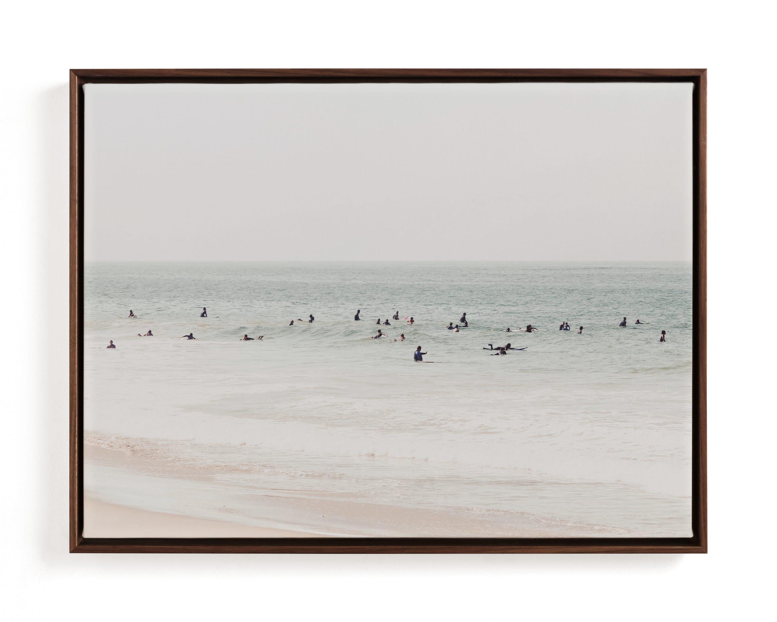 Next To You In Malibu Art Print
