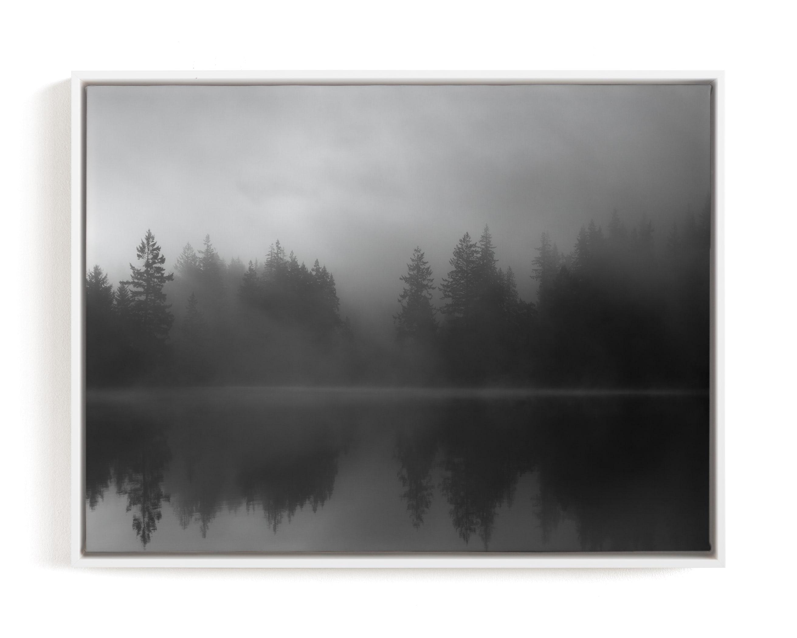 Fog Reflection Art Print