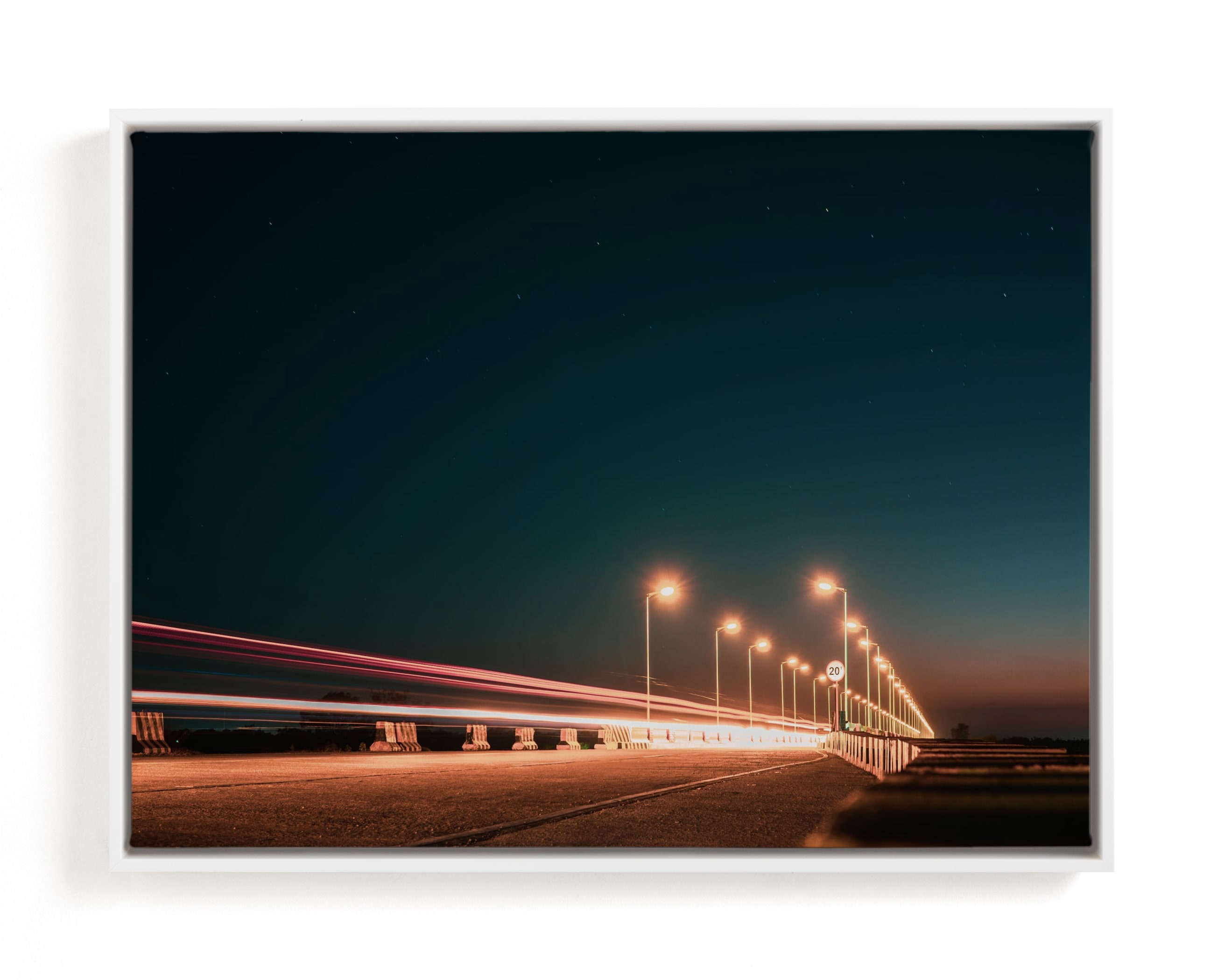 The Fast Bridge Art Print