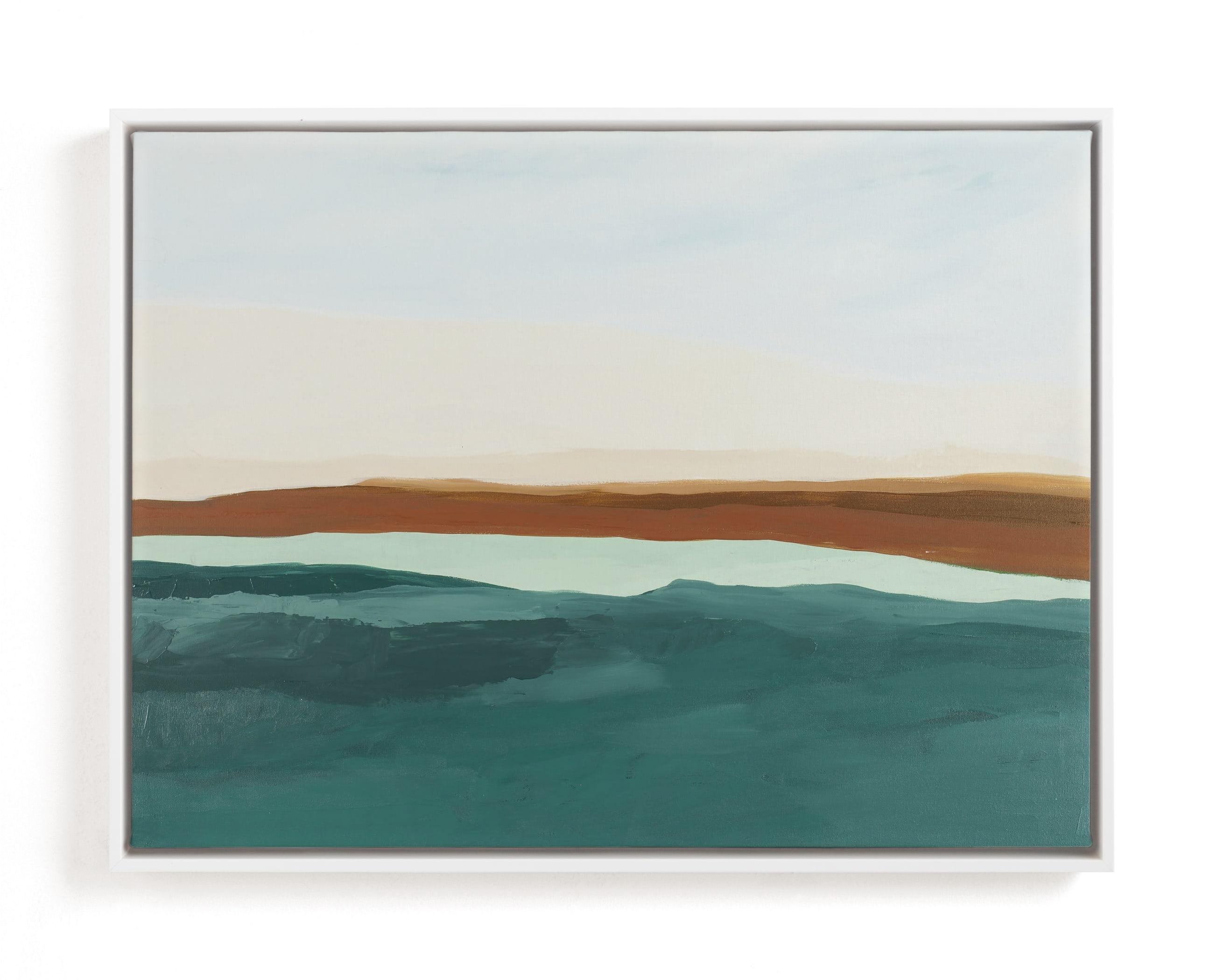 Fall Abstract Seascape Art Print