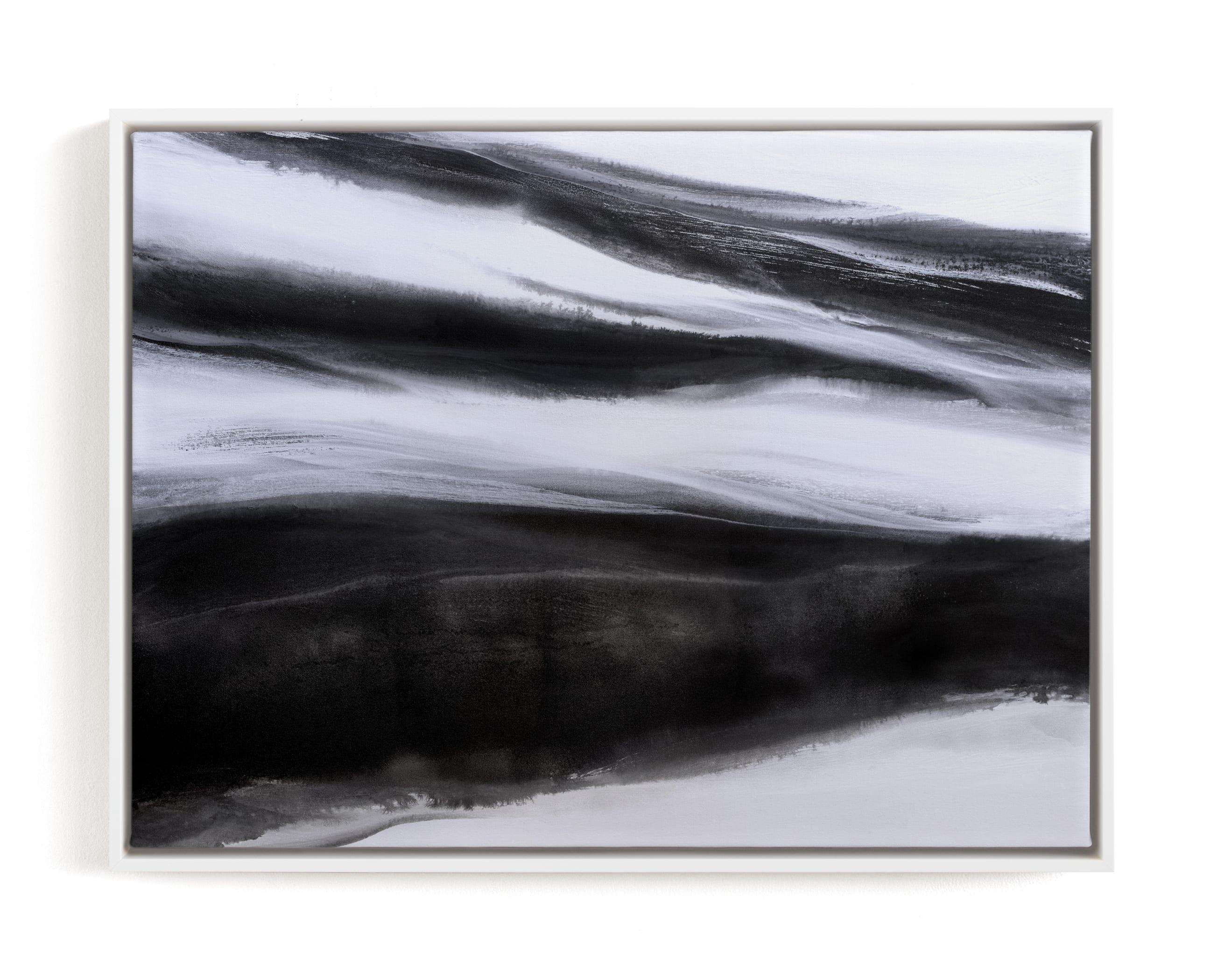 Black Tie Silver Art Print
