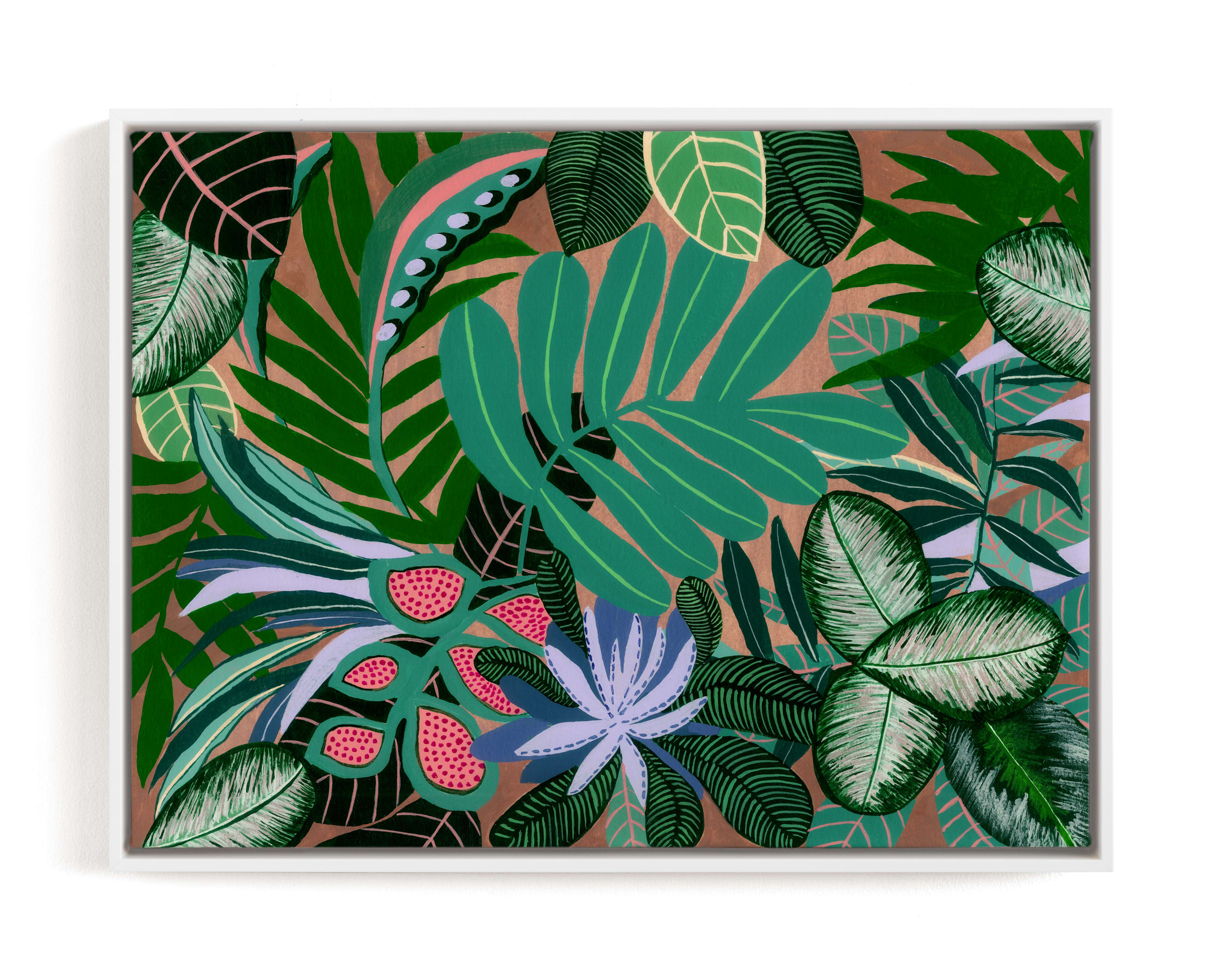 """""""Paradise"""" - Limited Edition Art Print by FERNANDA MARTINEZ in beautiful frame options and a variety of sizes."""