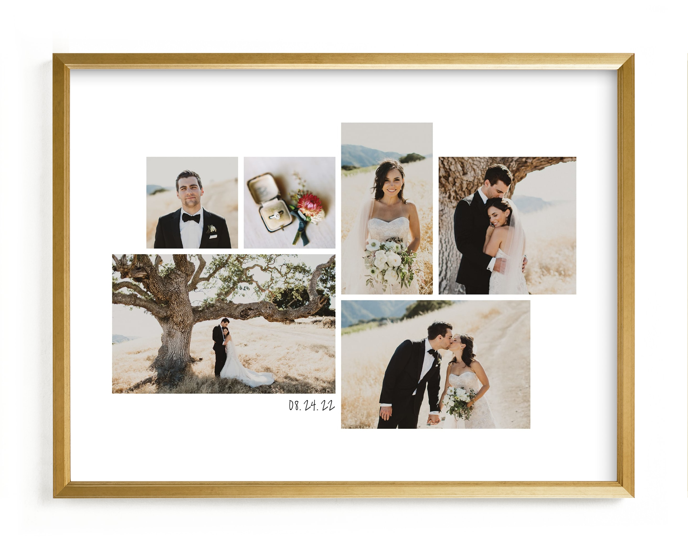 """""""Wedding Moments Landscape"""" - Custom Photo Art Print by Hooray Creative in beautiful frame options and a variety of sizes."""