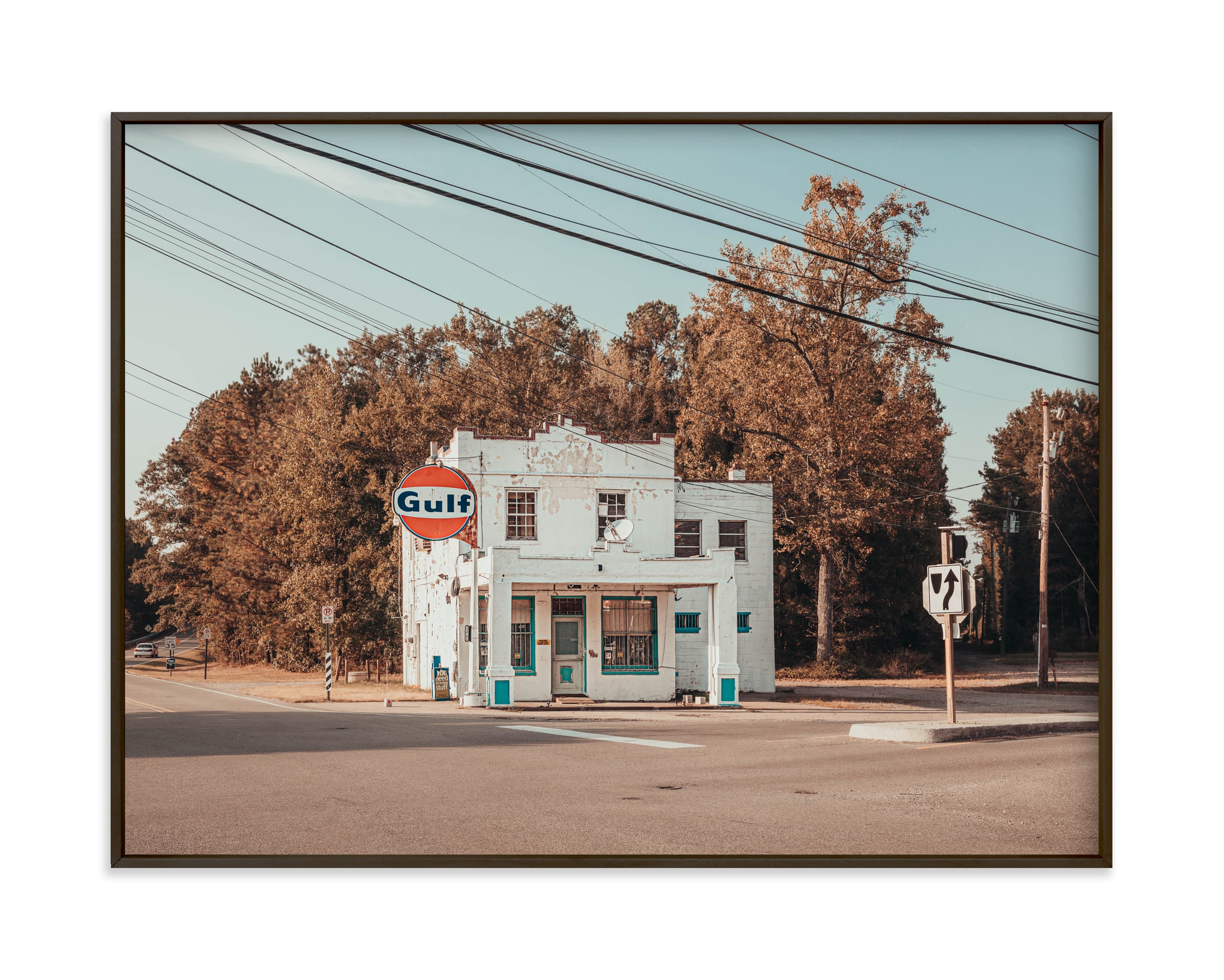 """""""Self-Service"""" - Limited Edition Art Print by Keely Norton Owendoff in beautiful frame options and a variety of sizes."""