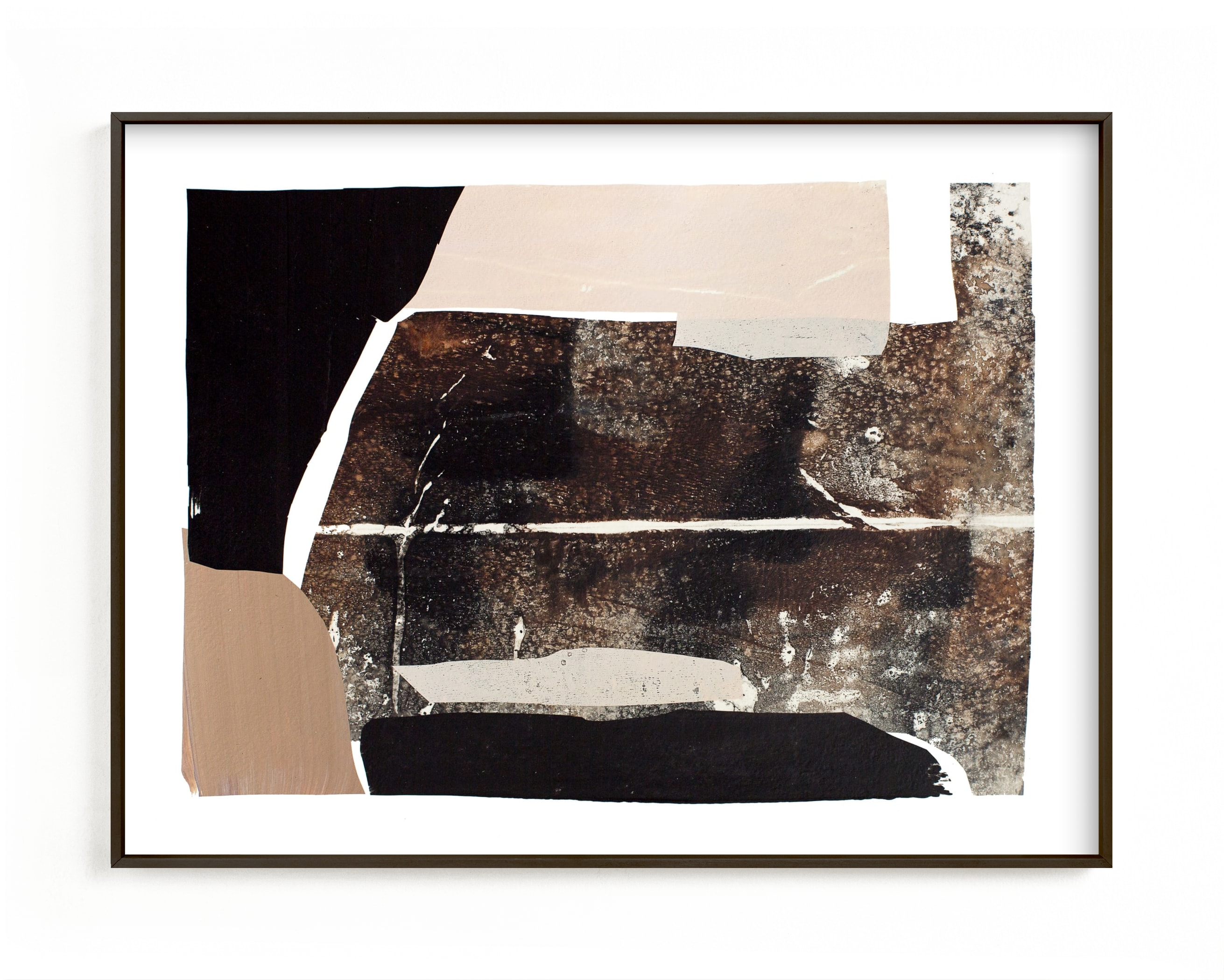"""""""Agate 1"""" - Limited Edition Art Print by Jennifer Daily in beautiful frame options and a variety of sizes."""
