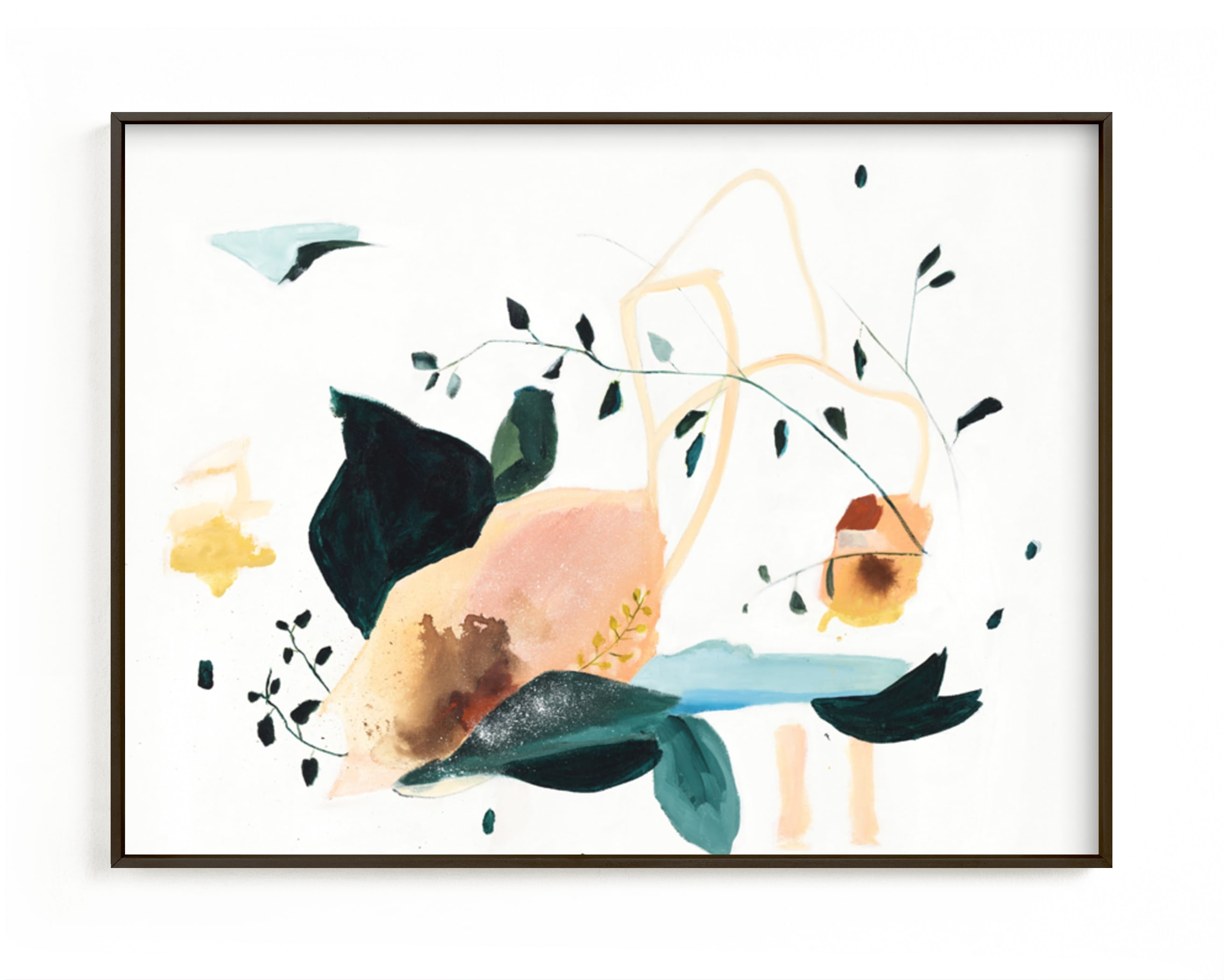 """""""Lyrical"""" - Limited Edition Art Print by Sarah McInroe in beautiful frame options and a variety of sizes."""