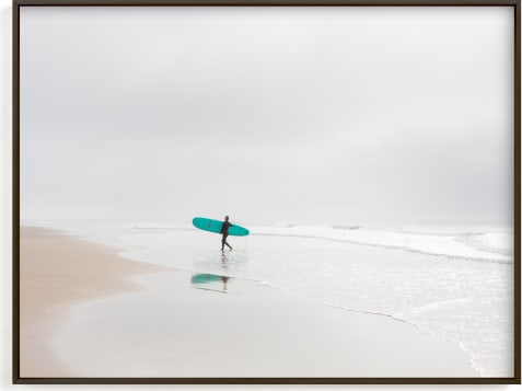 This is a blue art by Jessica C. Nugent called California Surf.