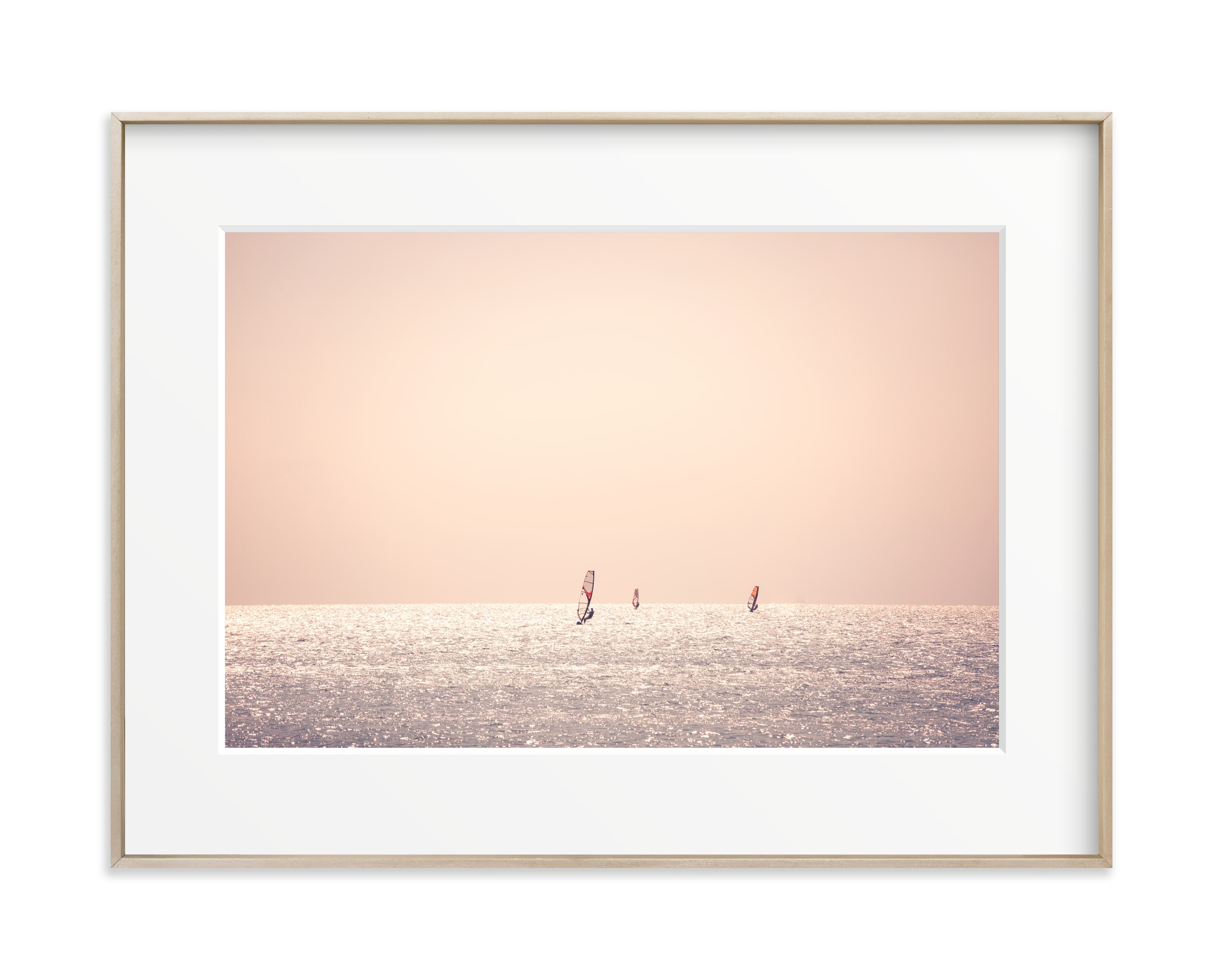 Outer Banks Wind Surfers Wall Art Print