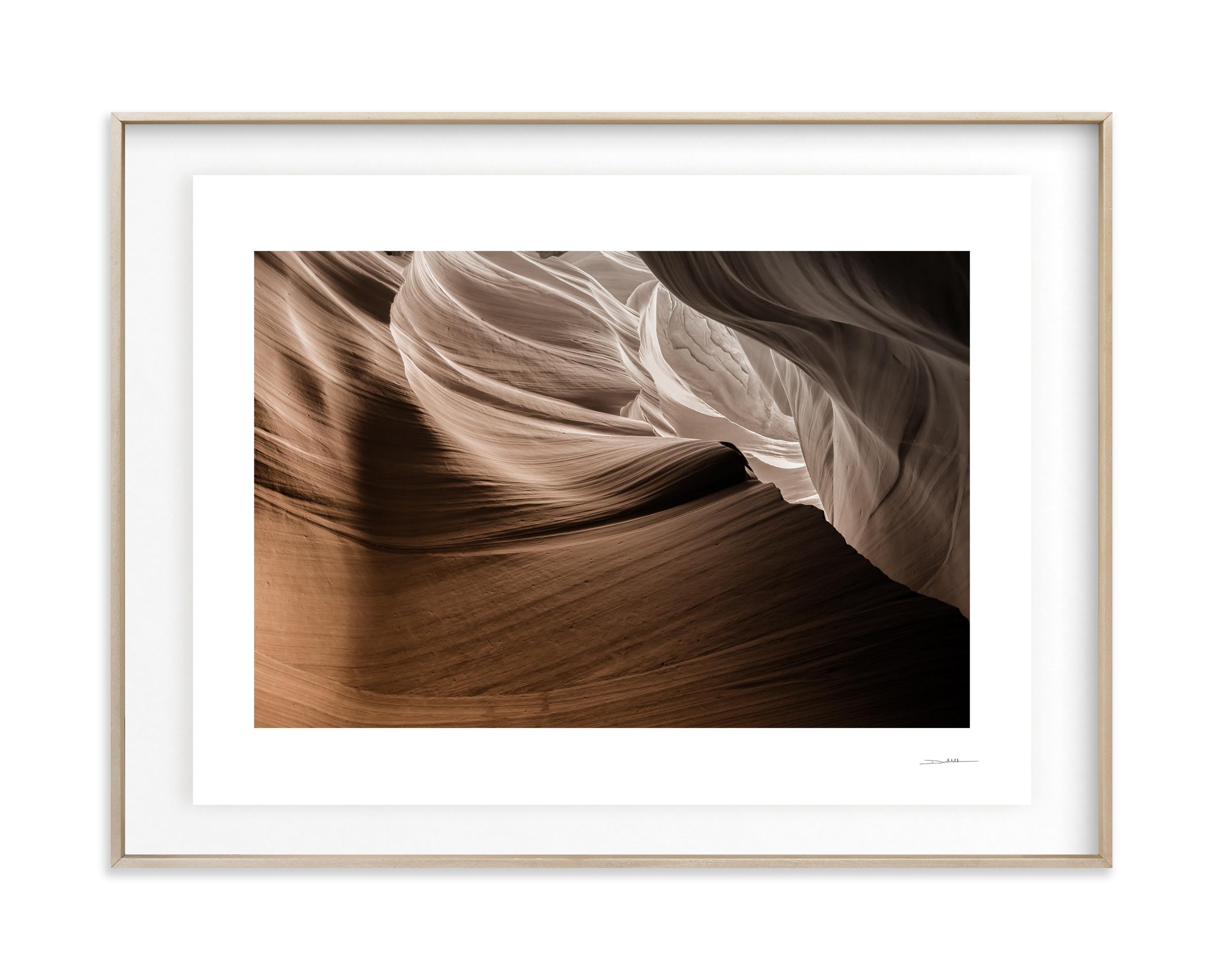 Caramel Canyon I Wall Art Print