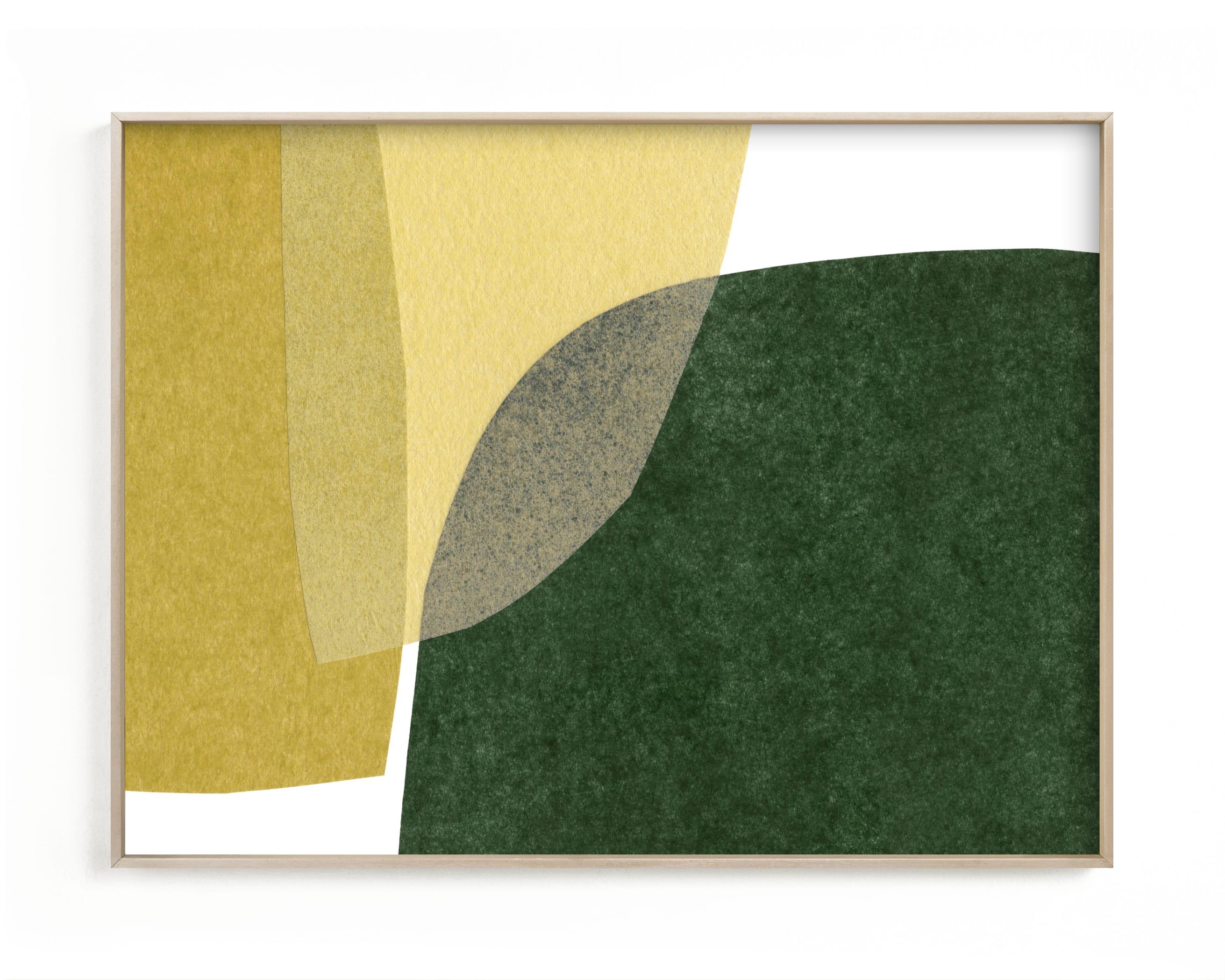 spatial divide one Wall Art Print
