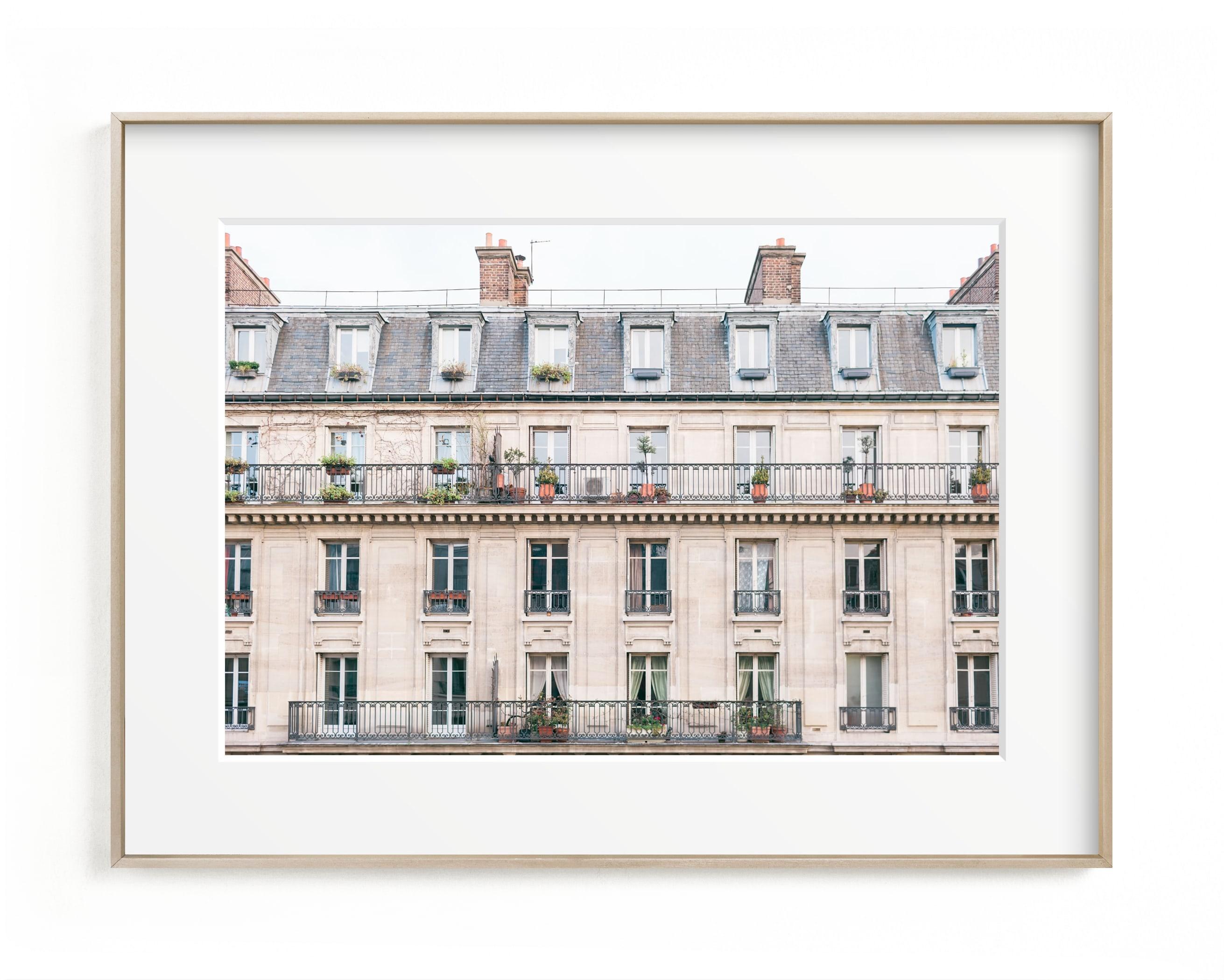 Days in Paris Art Print