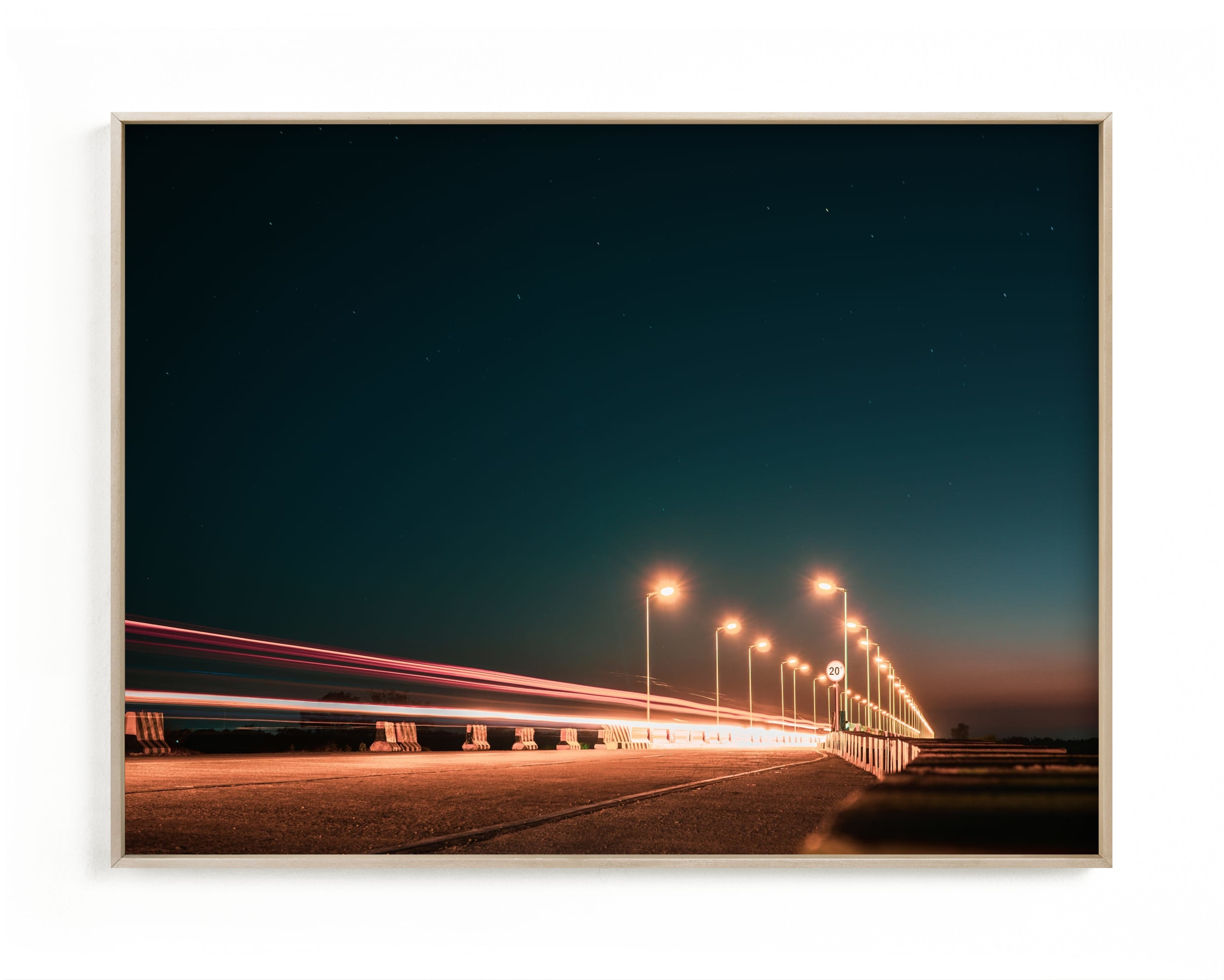 """The Fast Bridge"" - Limited Edition Art Print by Christian Fernandez in beautiful frame options and a variety of sizes."