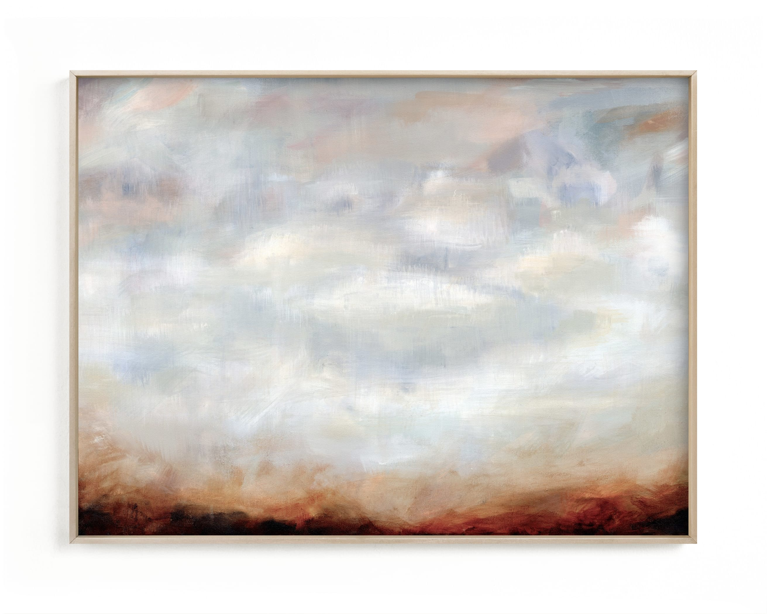 """Sienna Haze"" - Limited Edition Art Print by Nicole Walsh in beautiful frame options and a variety of sizes."
