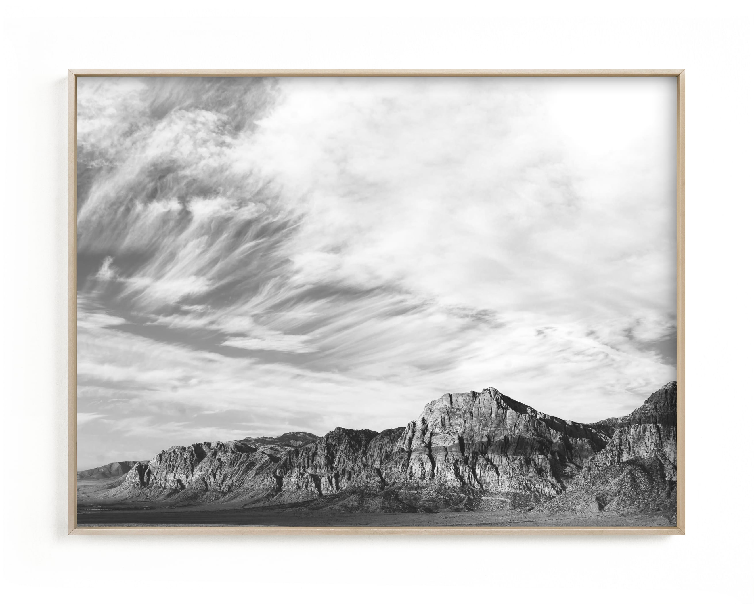 This is a black and white kids wall art by Kamala Nahas called red rock.