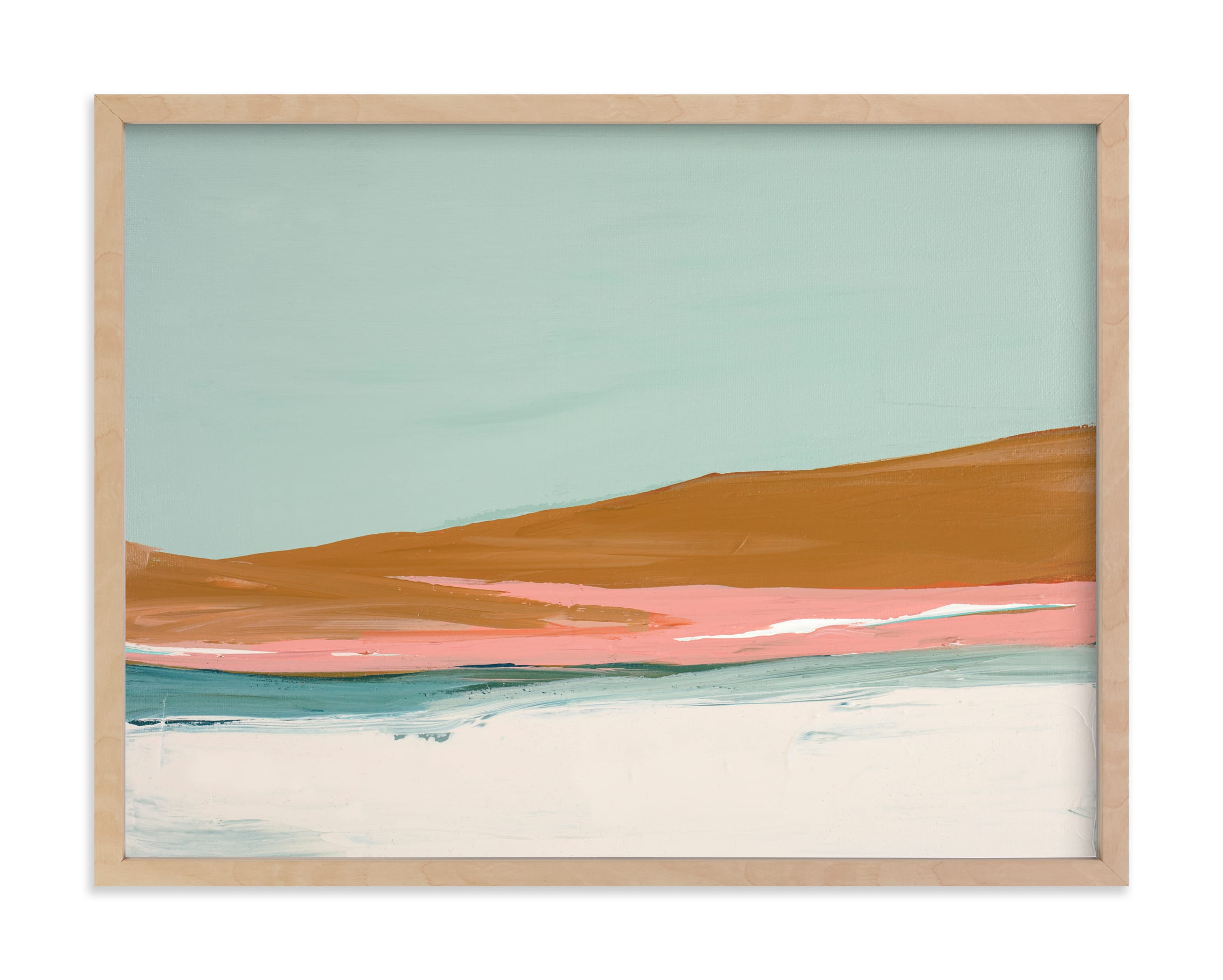 """""""Sand Dunes"""" - Limited Edition Art Print by Caryn Owen in beautiful frame options and a variety of sizes."""