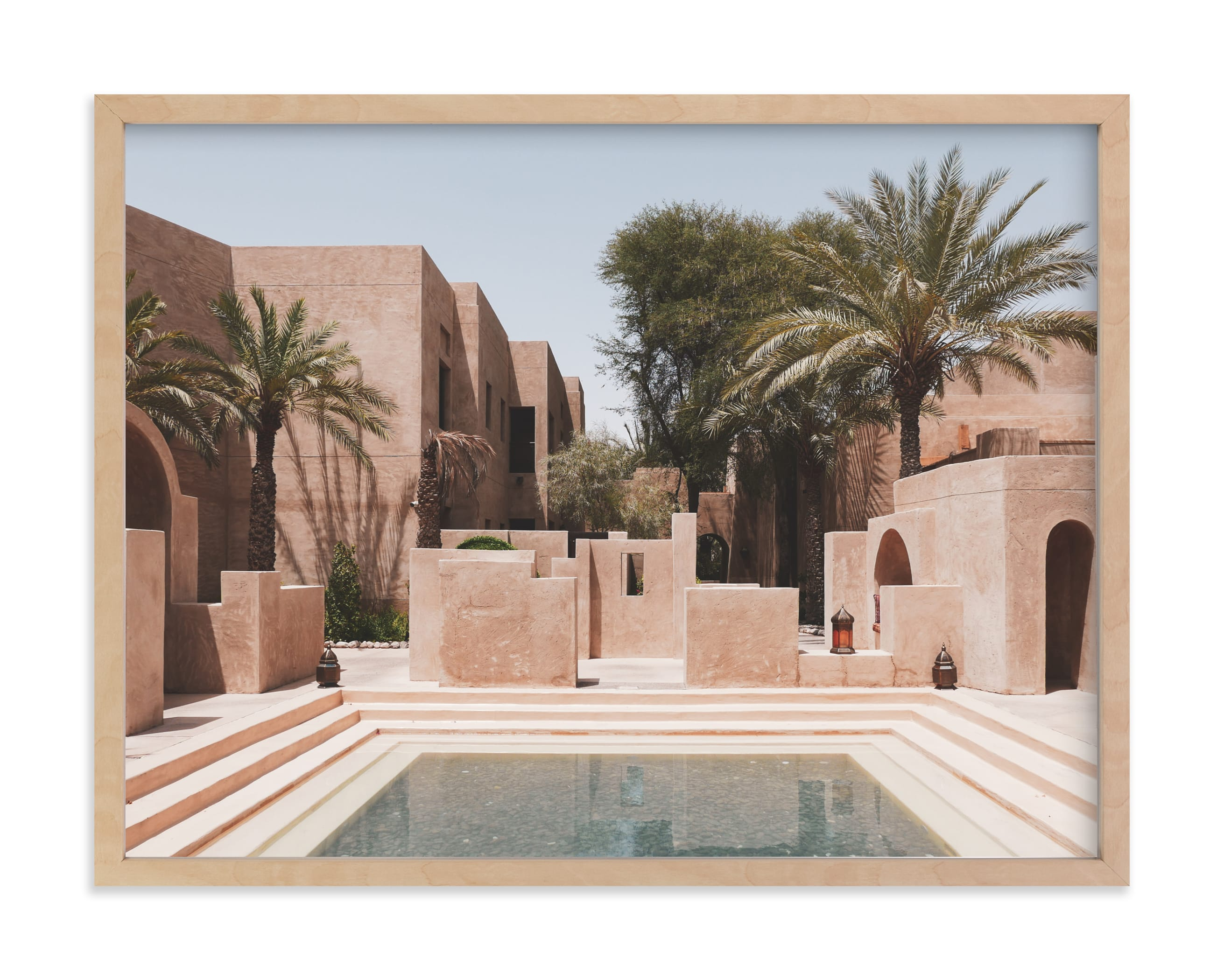 """Desert Oasis"" - Limited Edition Art Print by Meredith Acton in beautiful frame options and a variety of sizes."
