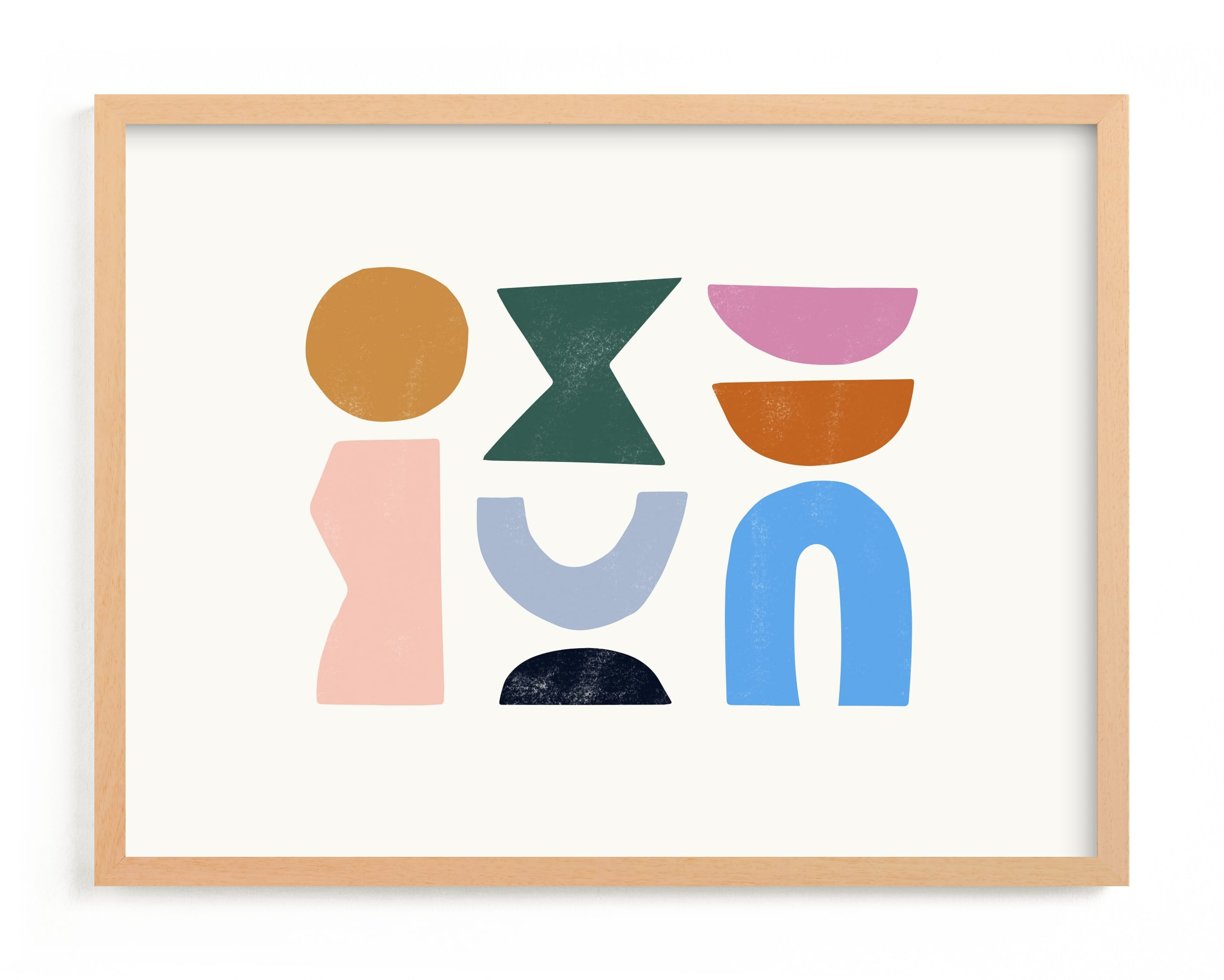 """""""Color Form"""" - Limited Edition Art Print by Ampersand Design Studio in beautiful frame options and a variety of sizes."""