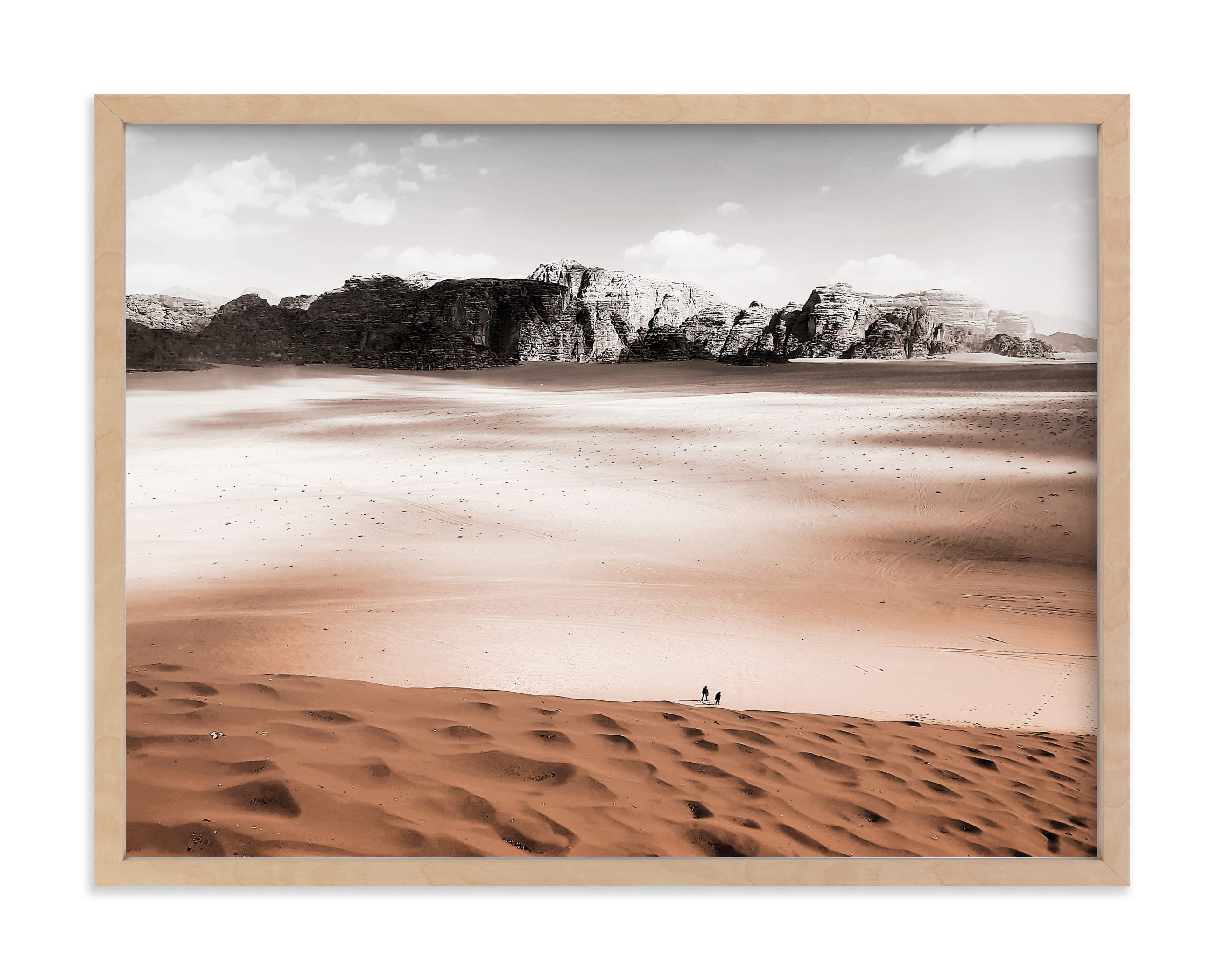 """""""Desert landscape"""" - Limited Edition Art Print by Oana Prints in beautiful frame options and a variety of sizes."""