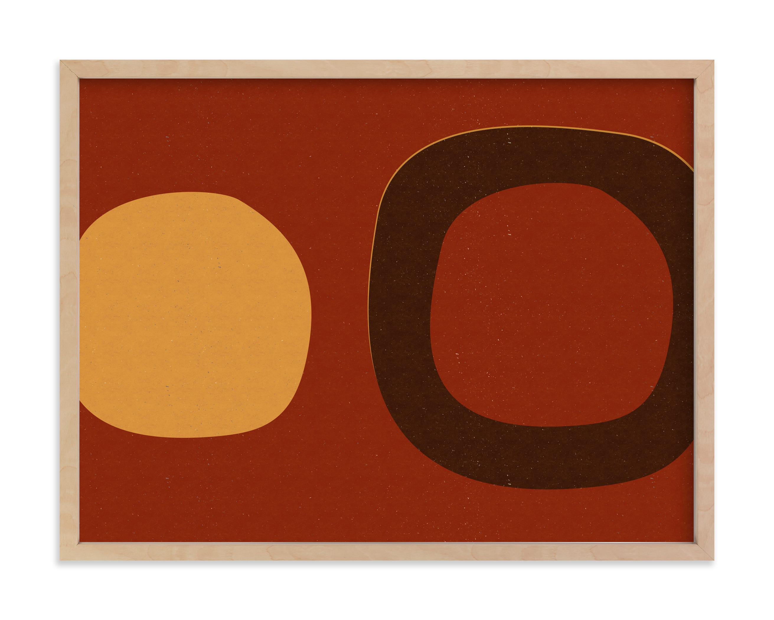 """""""Circle_08-01- A"""" - Limited Edition Art Print by Alain Castoriano in beautiful frame options and a variety of sizes."""