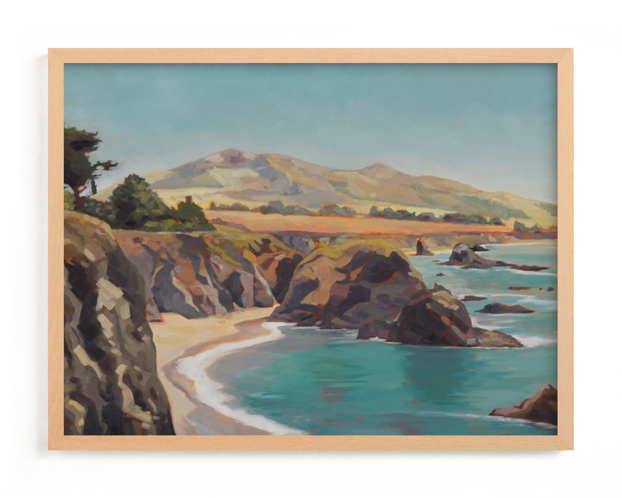 """The Wild Sonoma Coast"" - Limited Edition Art Print by Amanda Phelps in beautiful frame options and a variety of sizes."