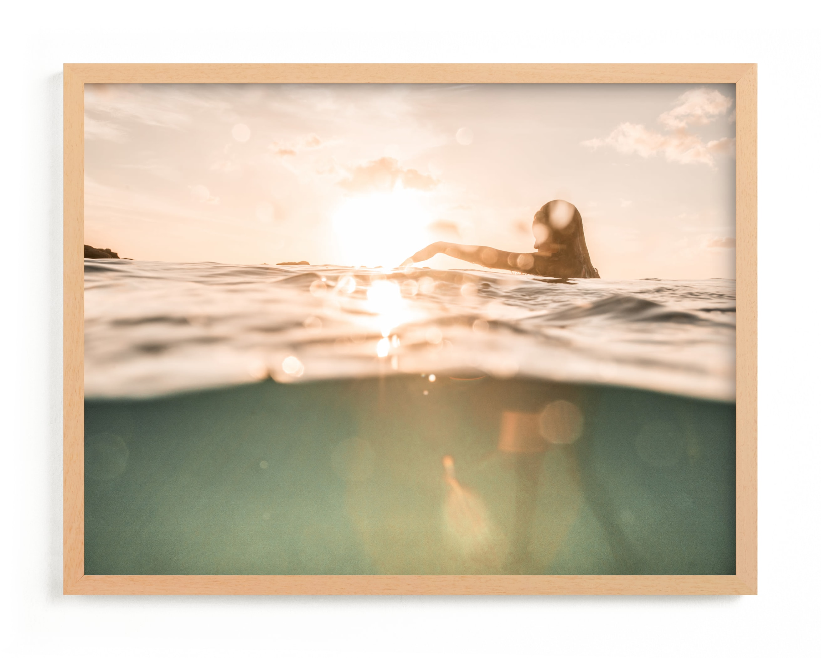 """""""Pause"""" - Limited Edition Art Print by Ashley Kaneko in beautiful frame options and a variety of sizes."""
