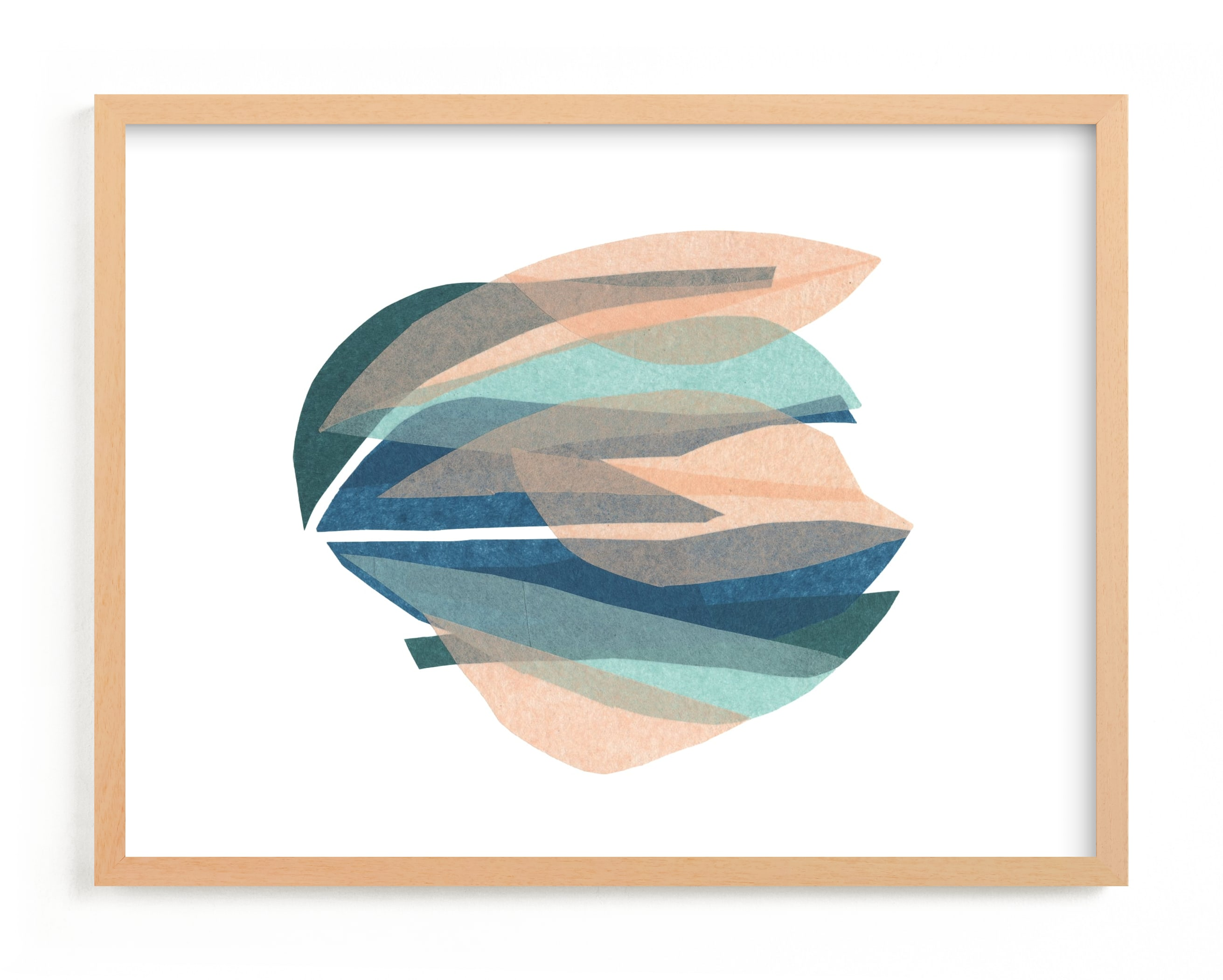 """tissue seagrass"" - Limited Edition Art Print by Carrie Moradi in beautiful frame options and a variety of sizes."