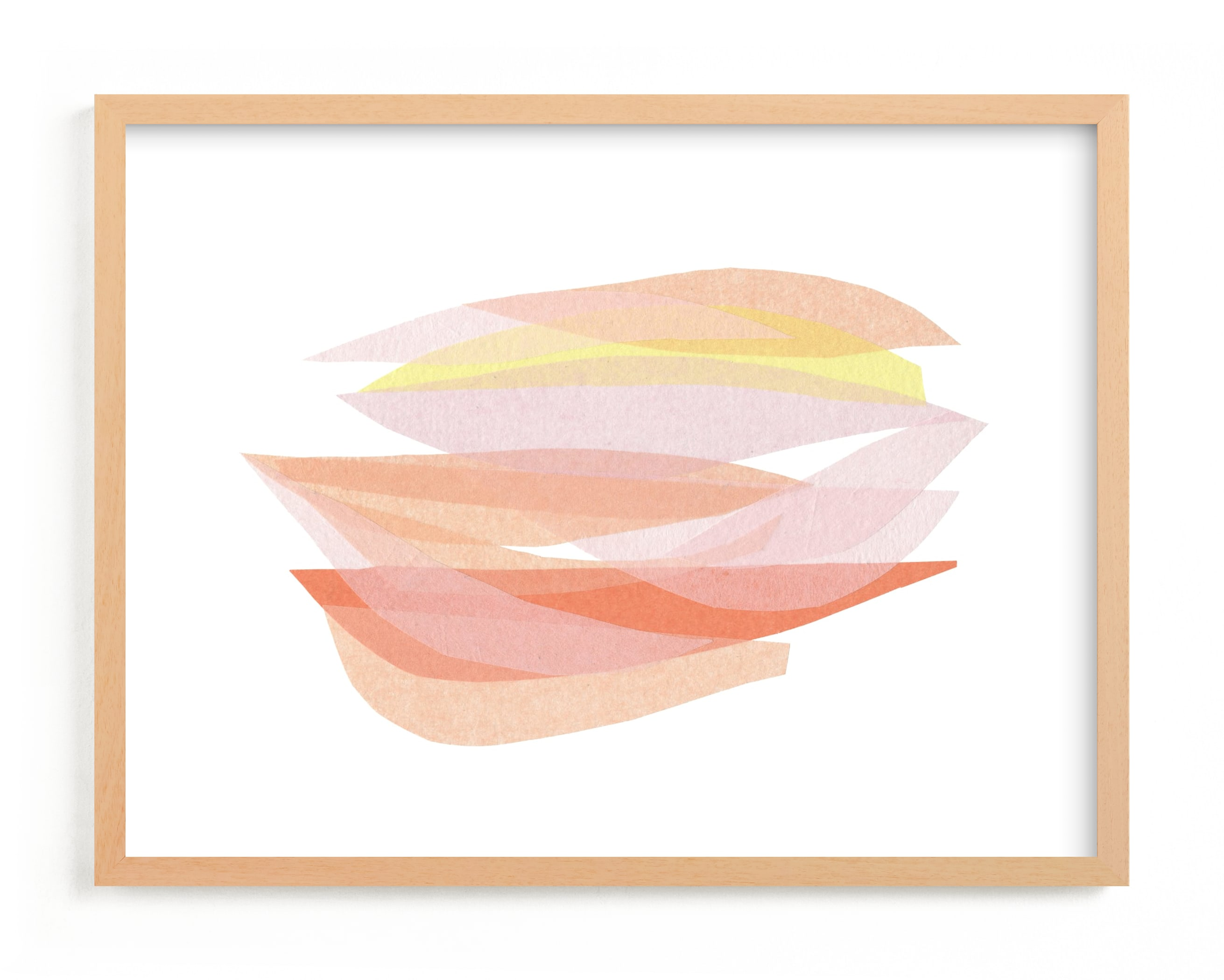 """tissue taking flight"" - Limited Edition Art Print by Carrie Moradi in beautiful frame options and a variety of sizes."