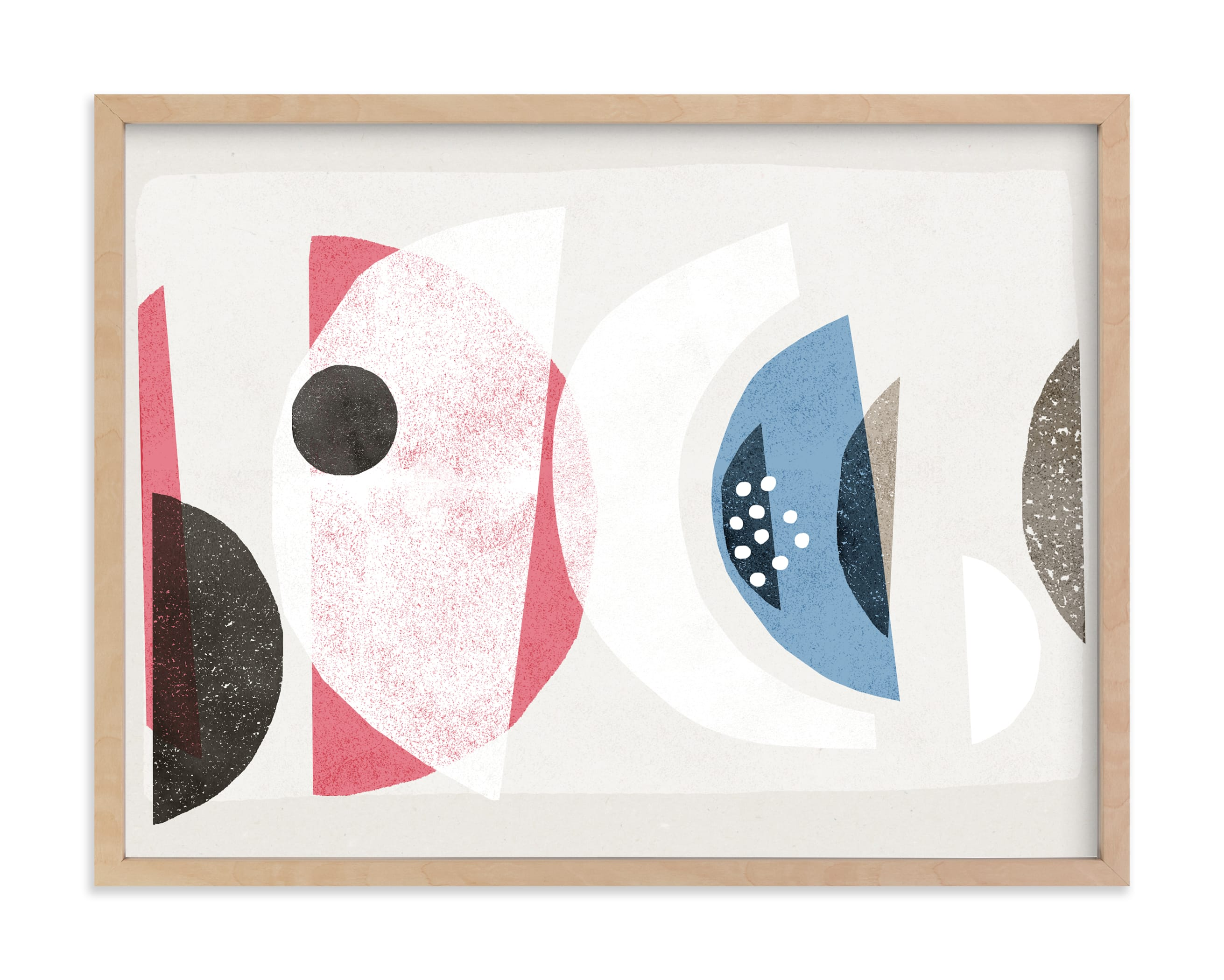 """Abstract No.16"" by Francesca Iannaccone in beautiful frame options and a variety of sizes."