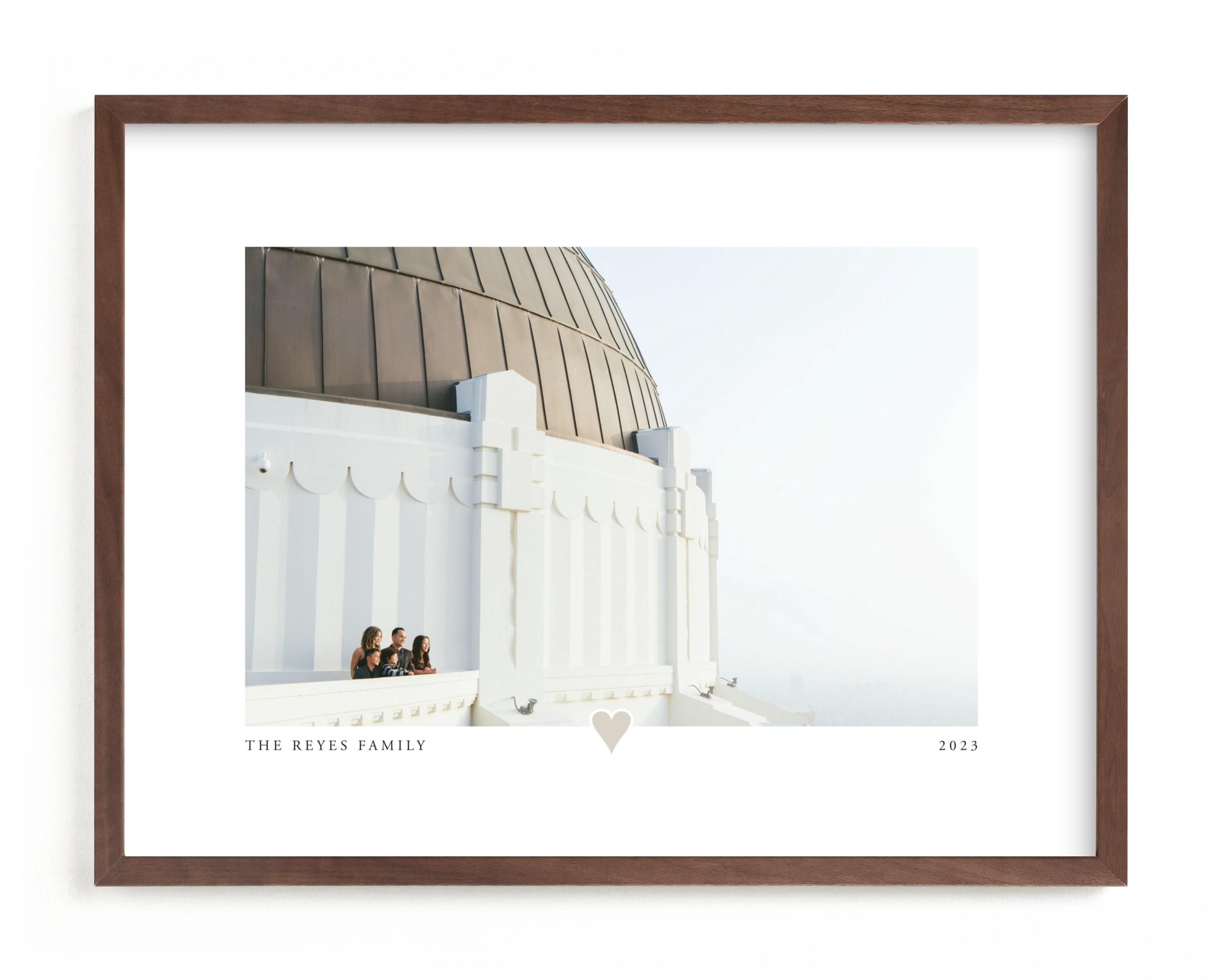 Best Mom Ever Foil Pressed Photo Art Print