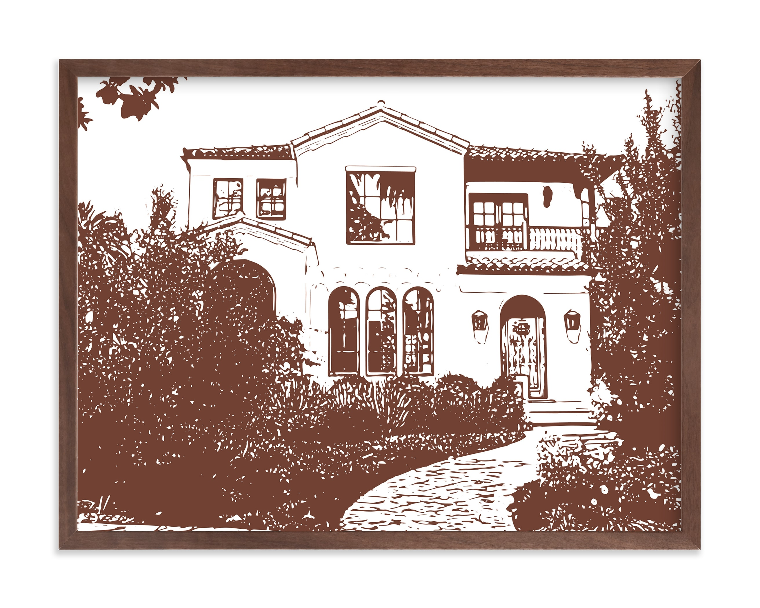 Custom House Portrait Custom House Portrait Art
