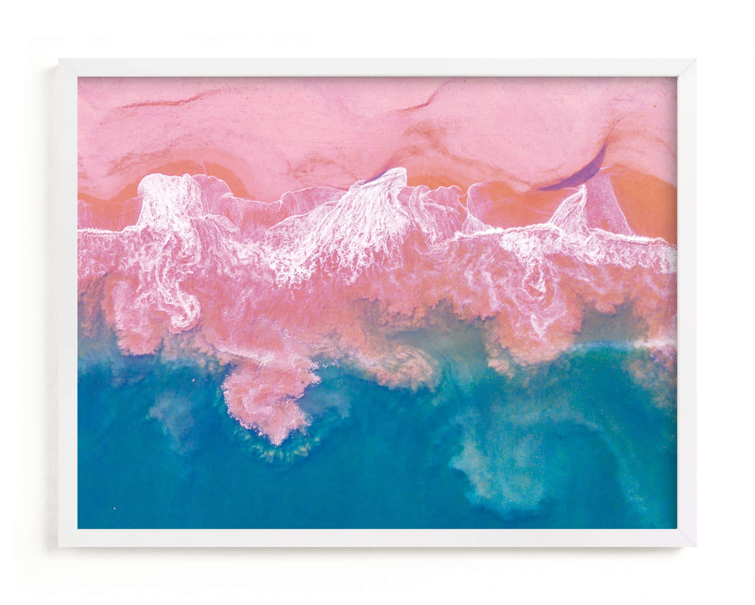 Marbleization Wall Art Print