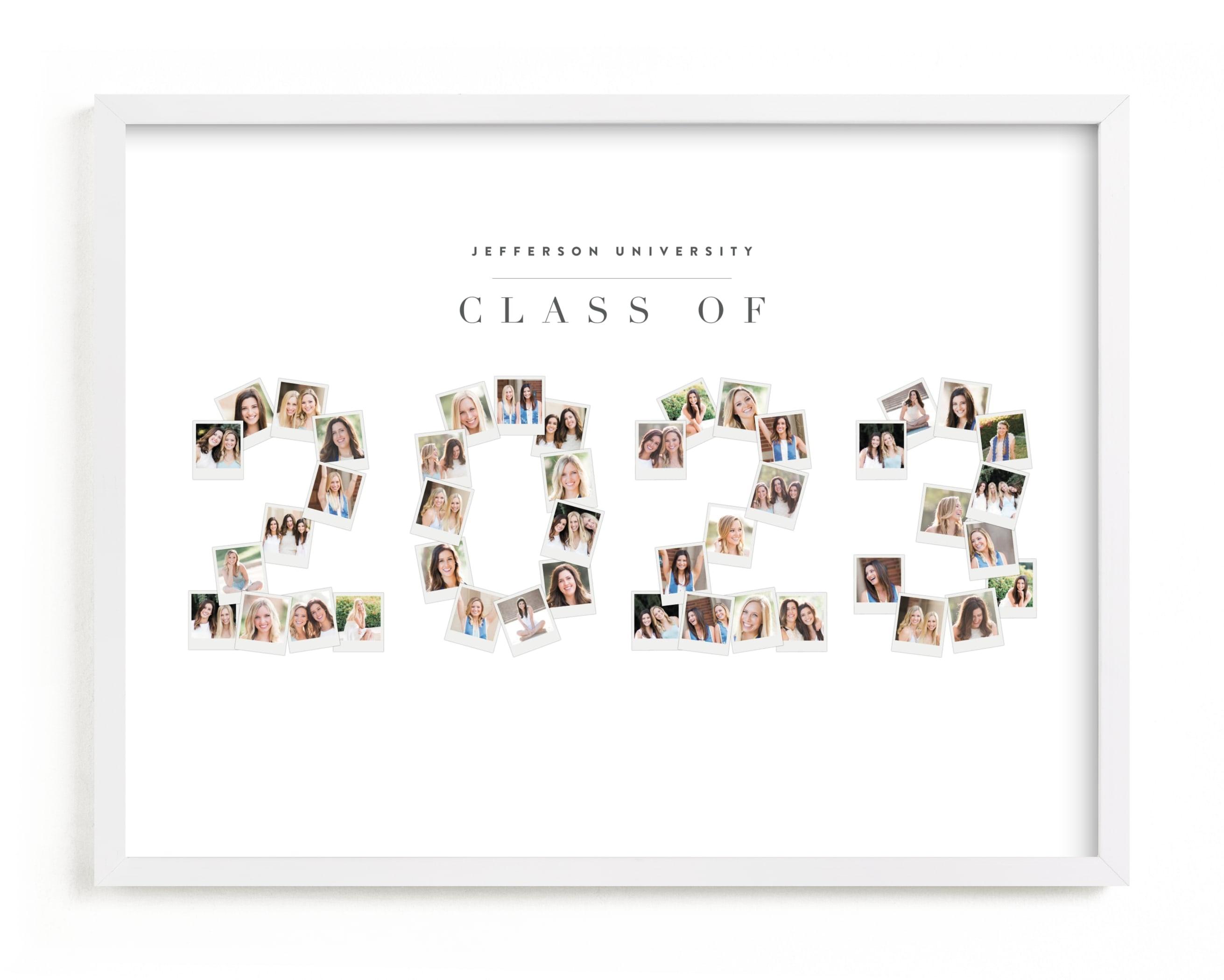 The Years Flew By 2021 Custom Photo Art Print