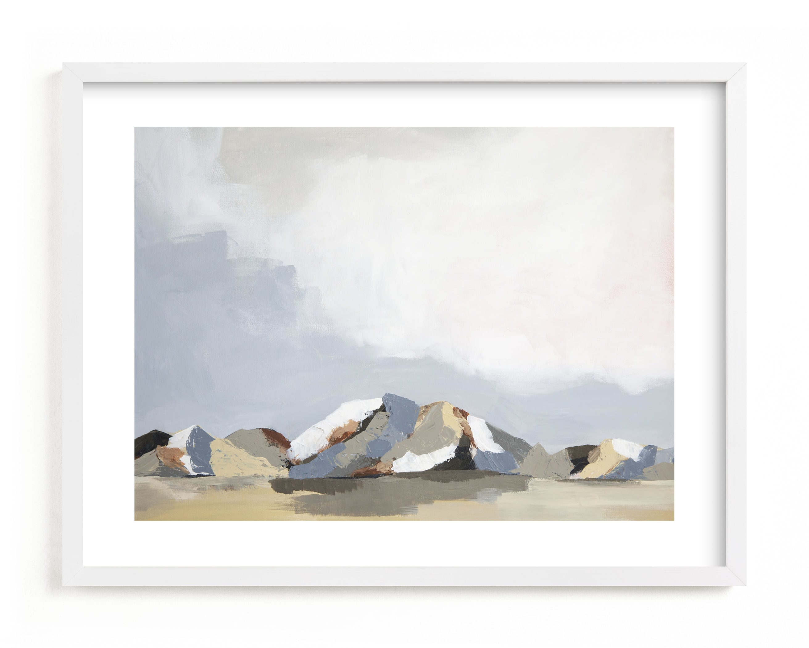 """""""Sundown in the Chisos"""" - Limited Edition Art Print by Kati Ramer in beautiful frame options and a variety of sizes."""
