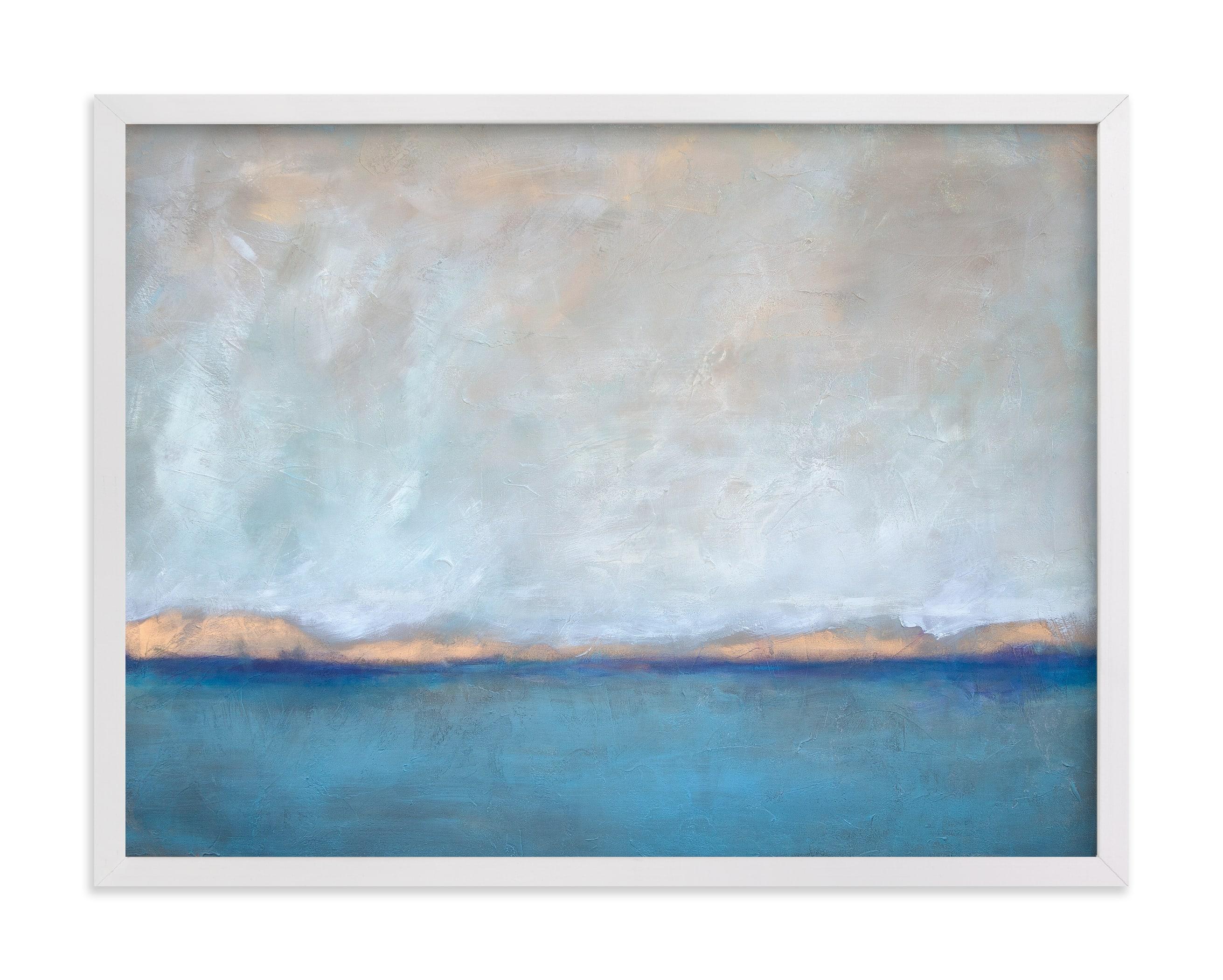 Linen Coast Art Print