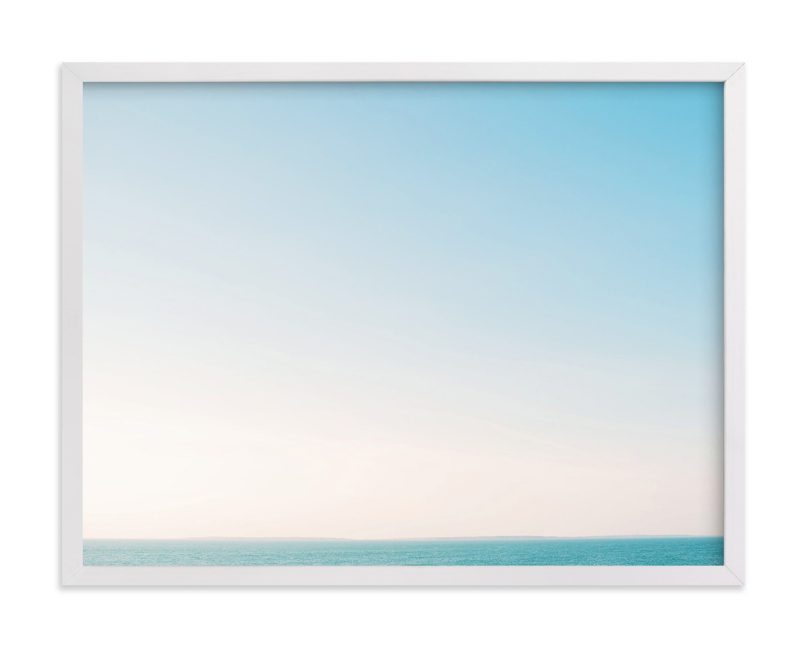 """""""Martha's Horizon"""" - Limited Edition Art Print by Whitney Deal in beautiful frame options and a variety of sizes."""