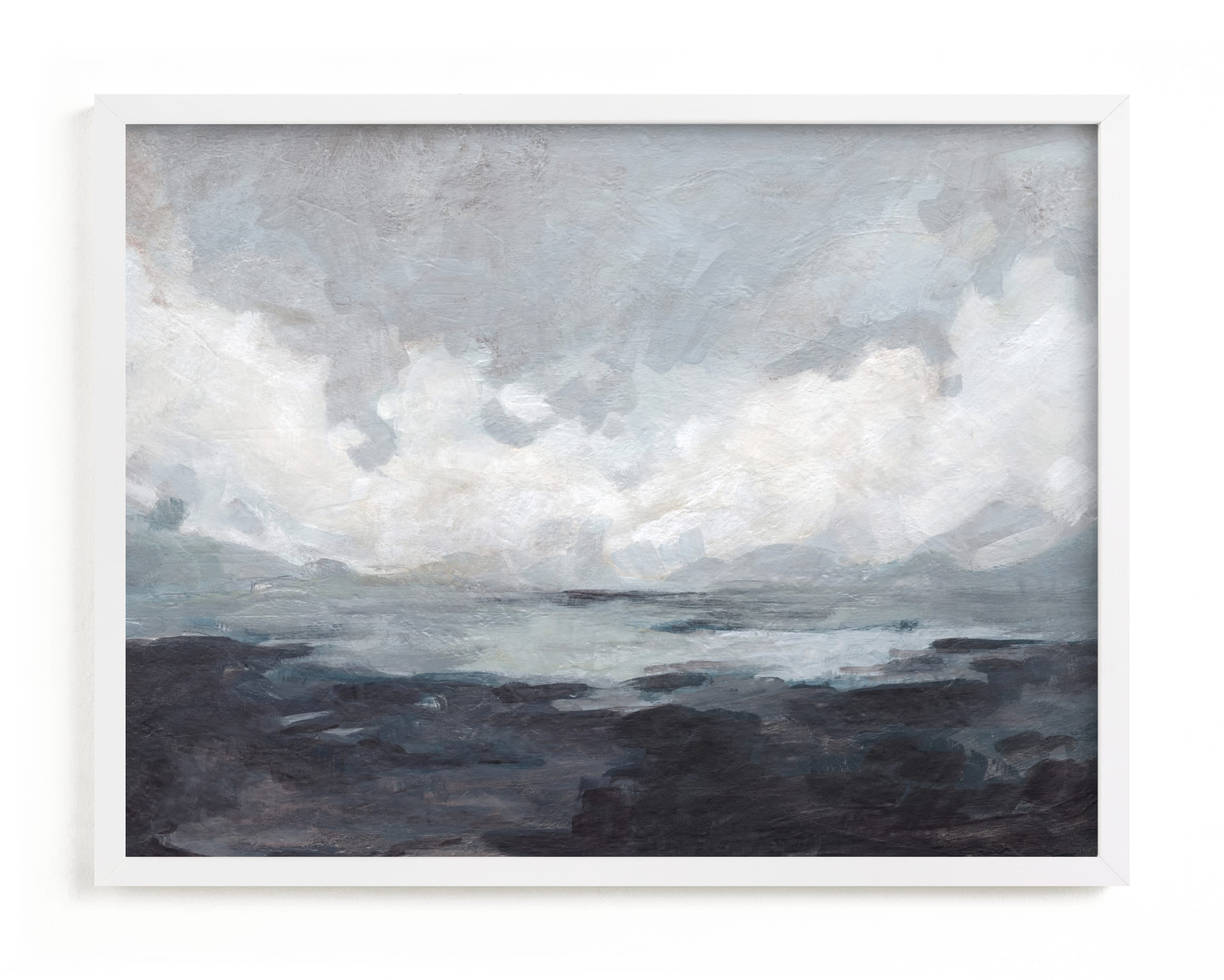 """""""Winter Bluff"""" - Limited Edition Art Print by Lorent and Leif in beautiful frame options and a variety of sizes."""