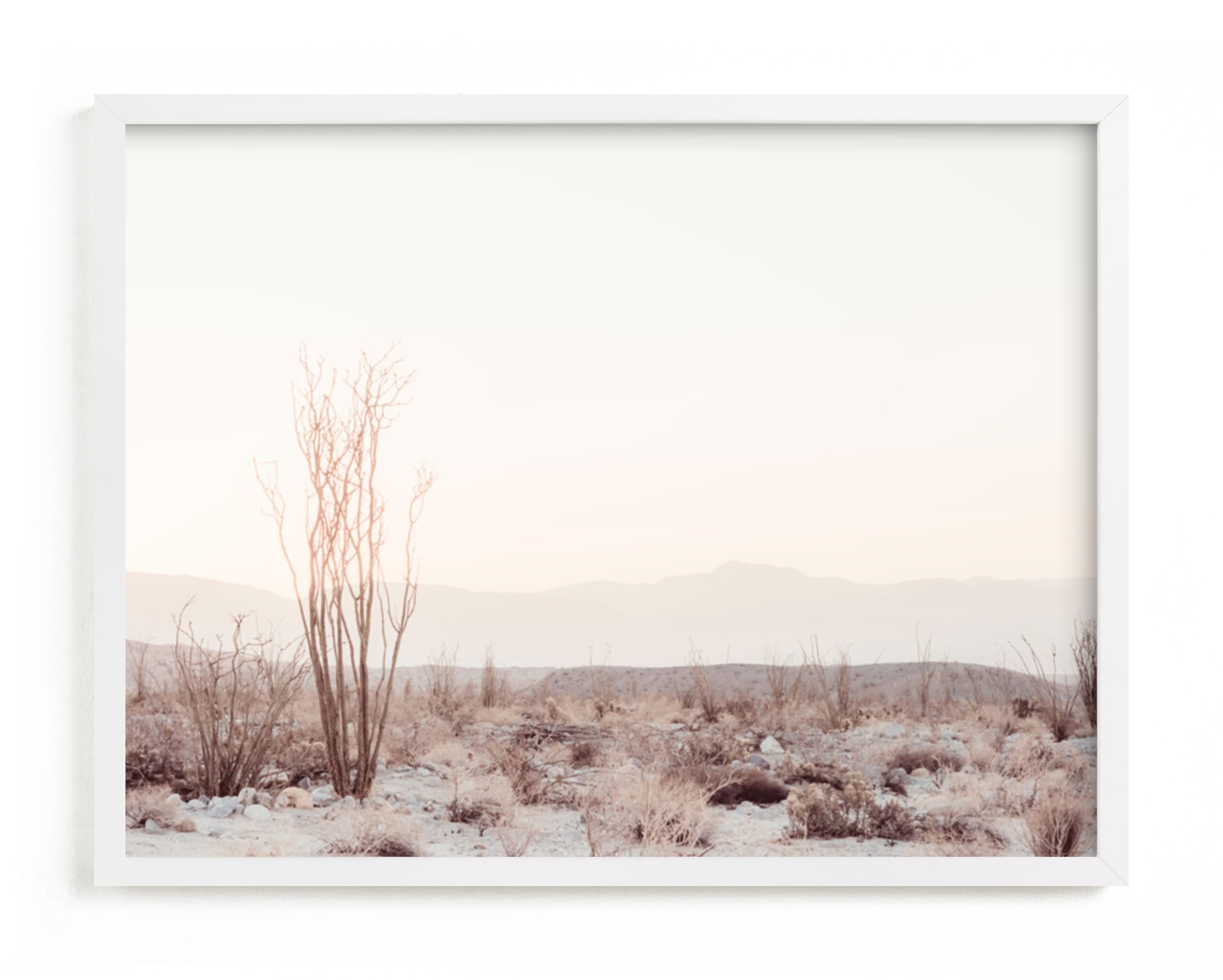 Marble Forest Art Print