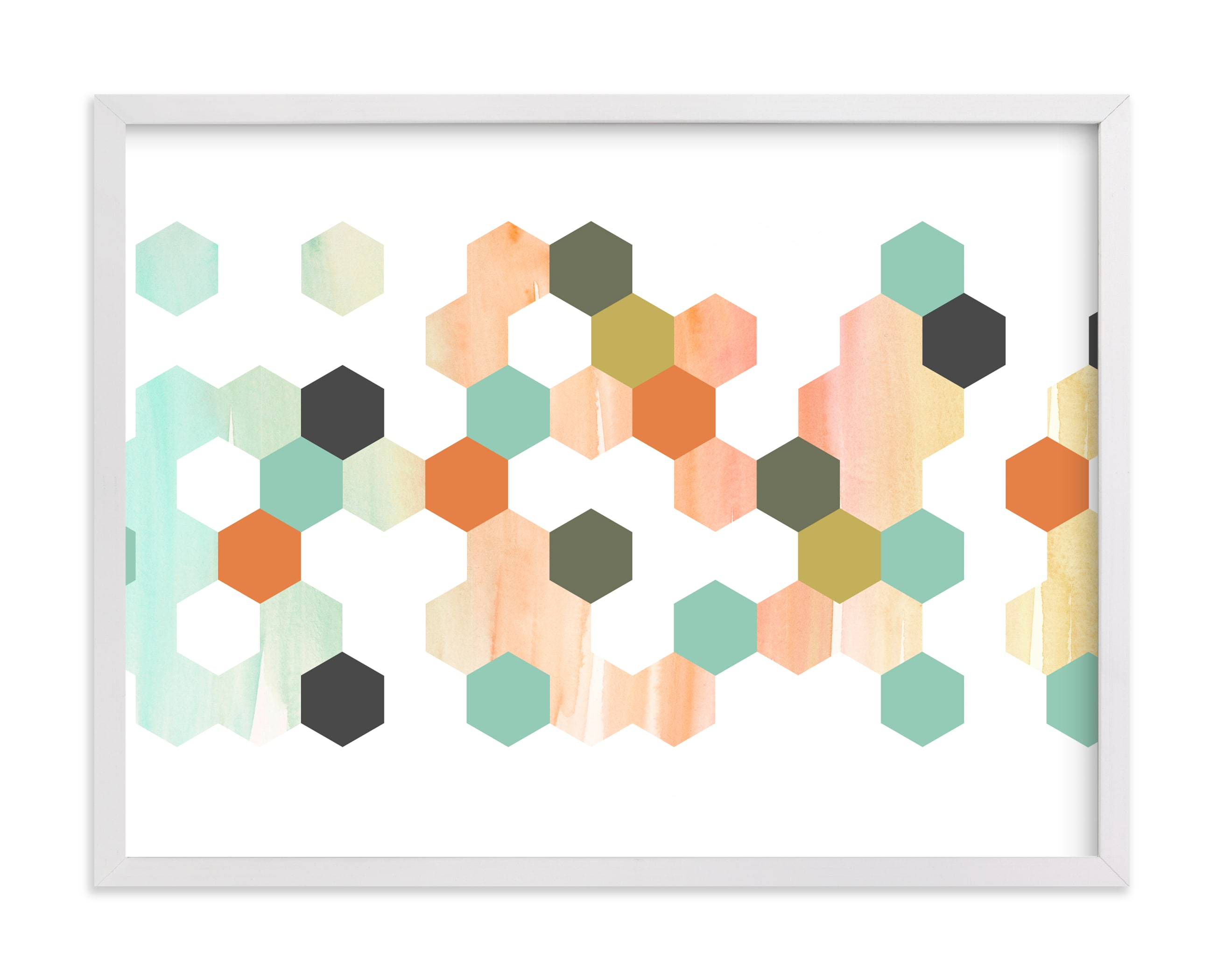"""Apertures No. 2"" - Limited Edition Art Print by Genna Blackburn in beautiful frame options and a variety of sizes."