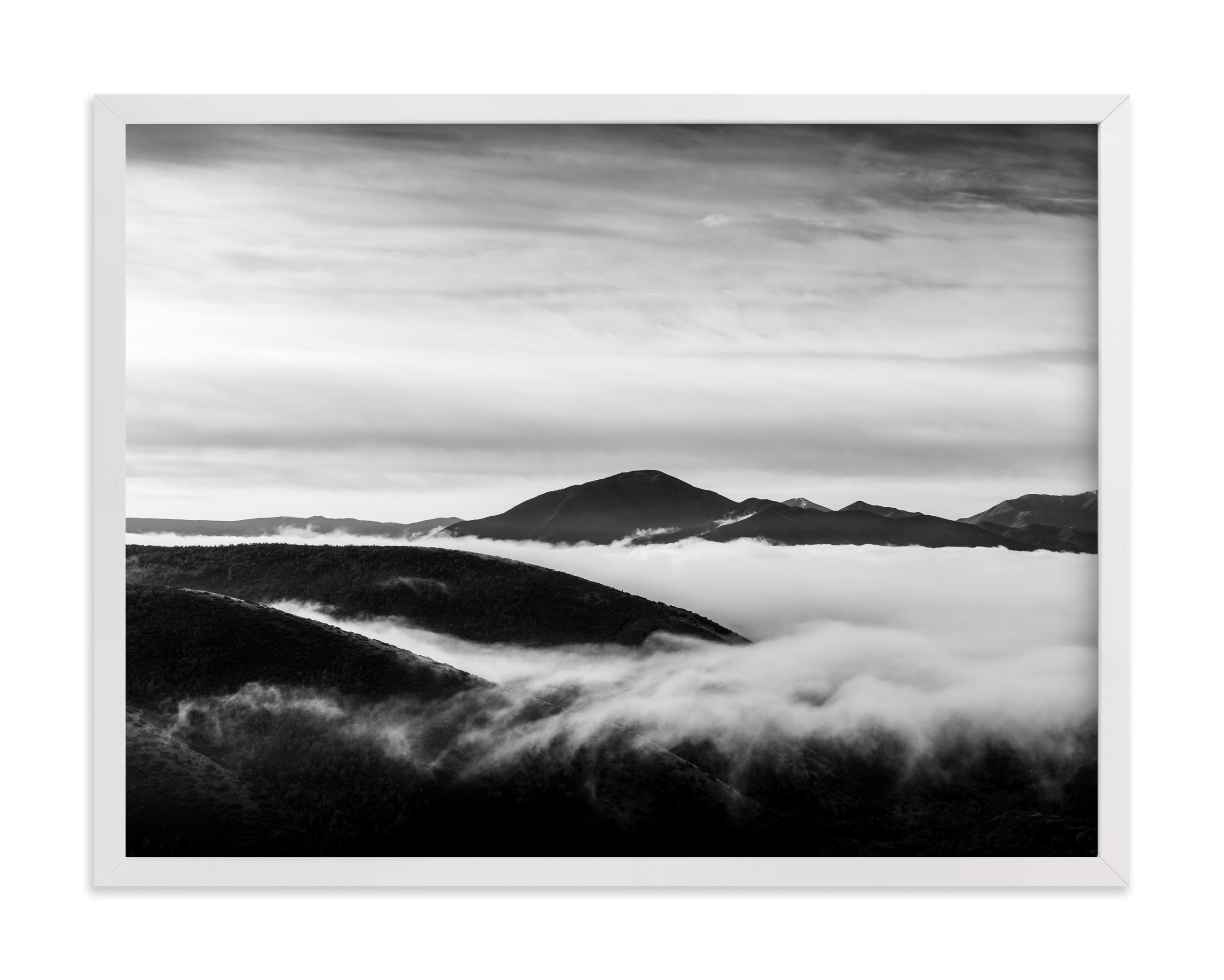 """""""Tempest Number Three"""" - Limited Edition Art Print by Eric Clegg in beautiful frame options and a variety of sizes."""