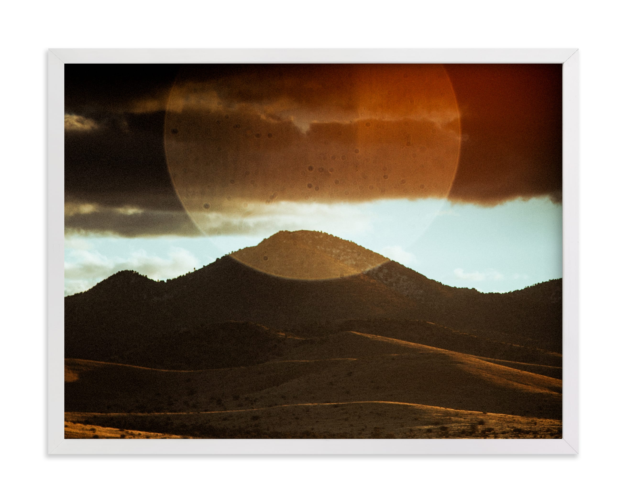 """""""the new sun"""" - Limited Edition Art Print by Jacob Loafman in beautiful frame options and a variety of sizes."""