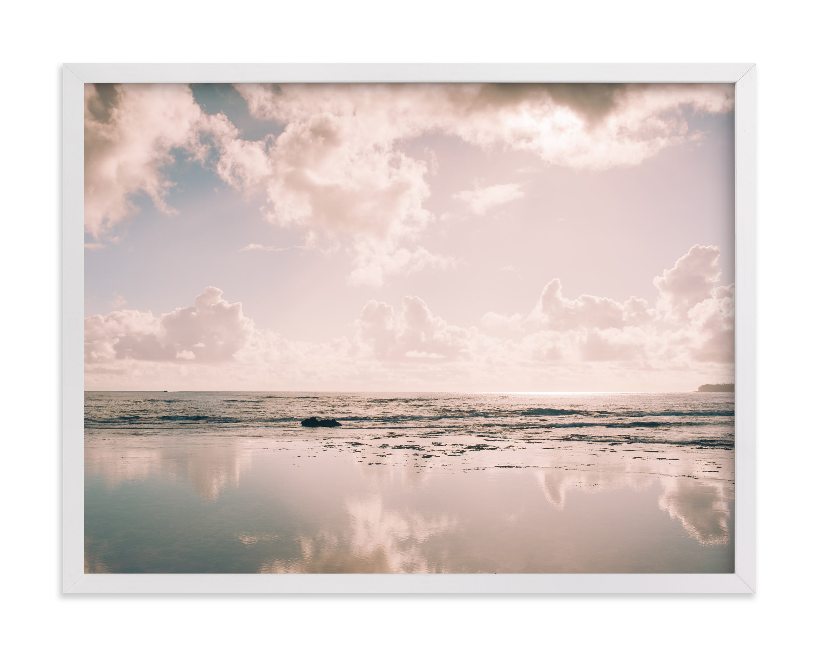 """""""Reflecting Clouds"""" - Limited Edition Art Print by Anna Western in beautiful frame options and a variety of sizes."""