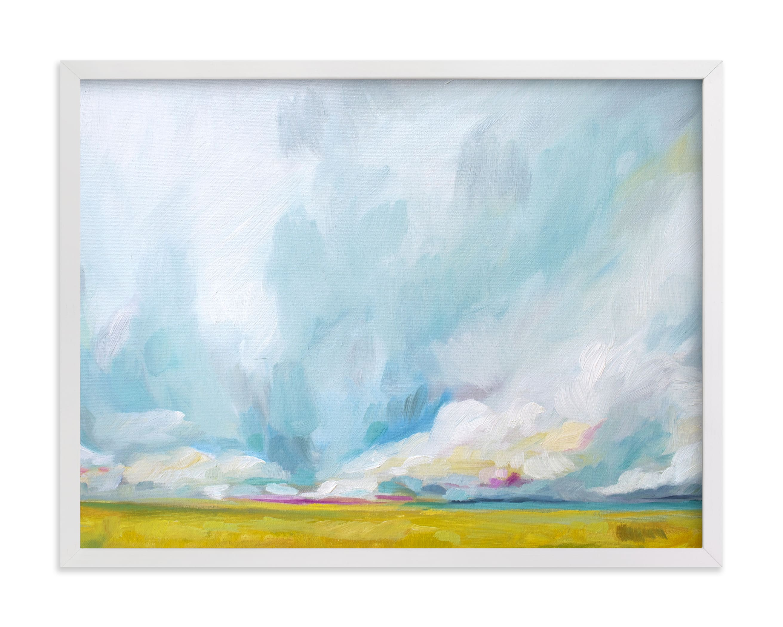 """Savannah Lands"" - Limited Edition Art Print by Emily Jeffords in beautiful frame options and a variety of sizes."