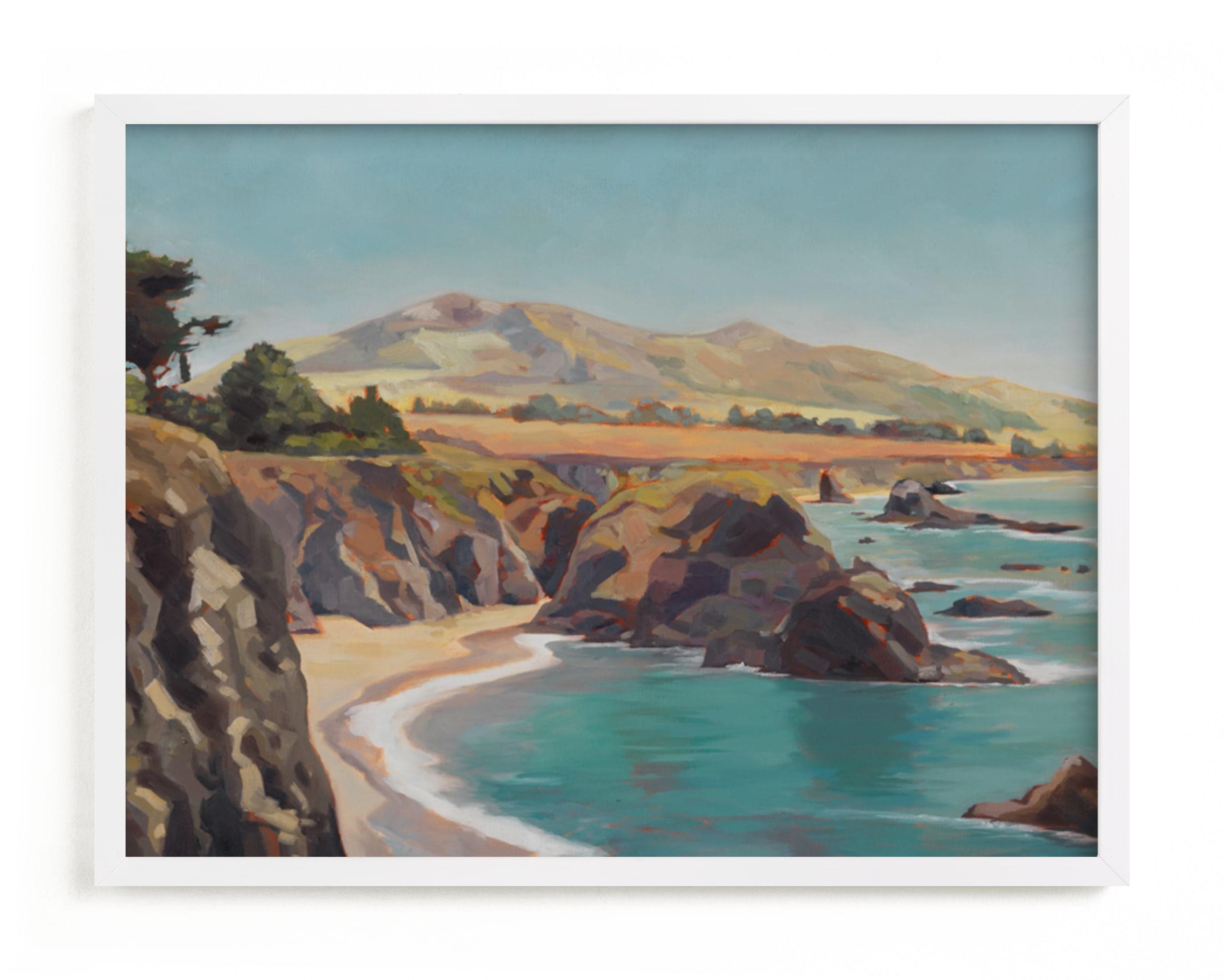 The Wild Sonoma Coast Art Print