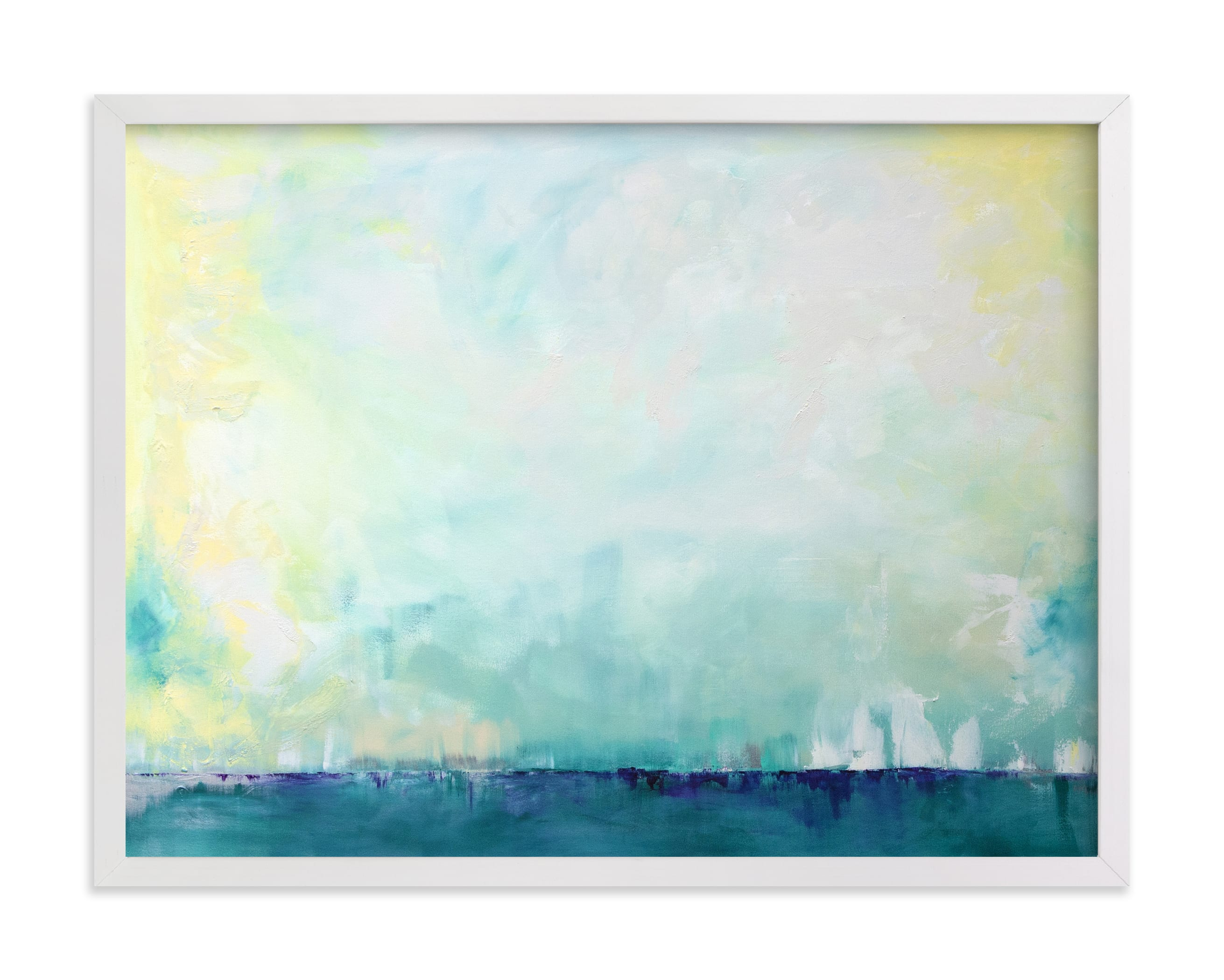 """""""Sail"""" - Limited Edition Art Print by Julia Contacessi in beautiful frame options and a variety of sizes."""