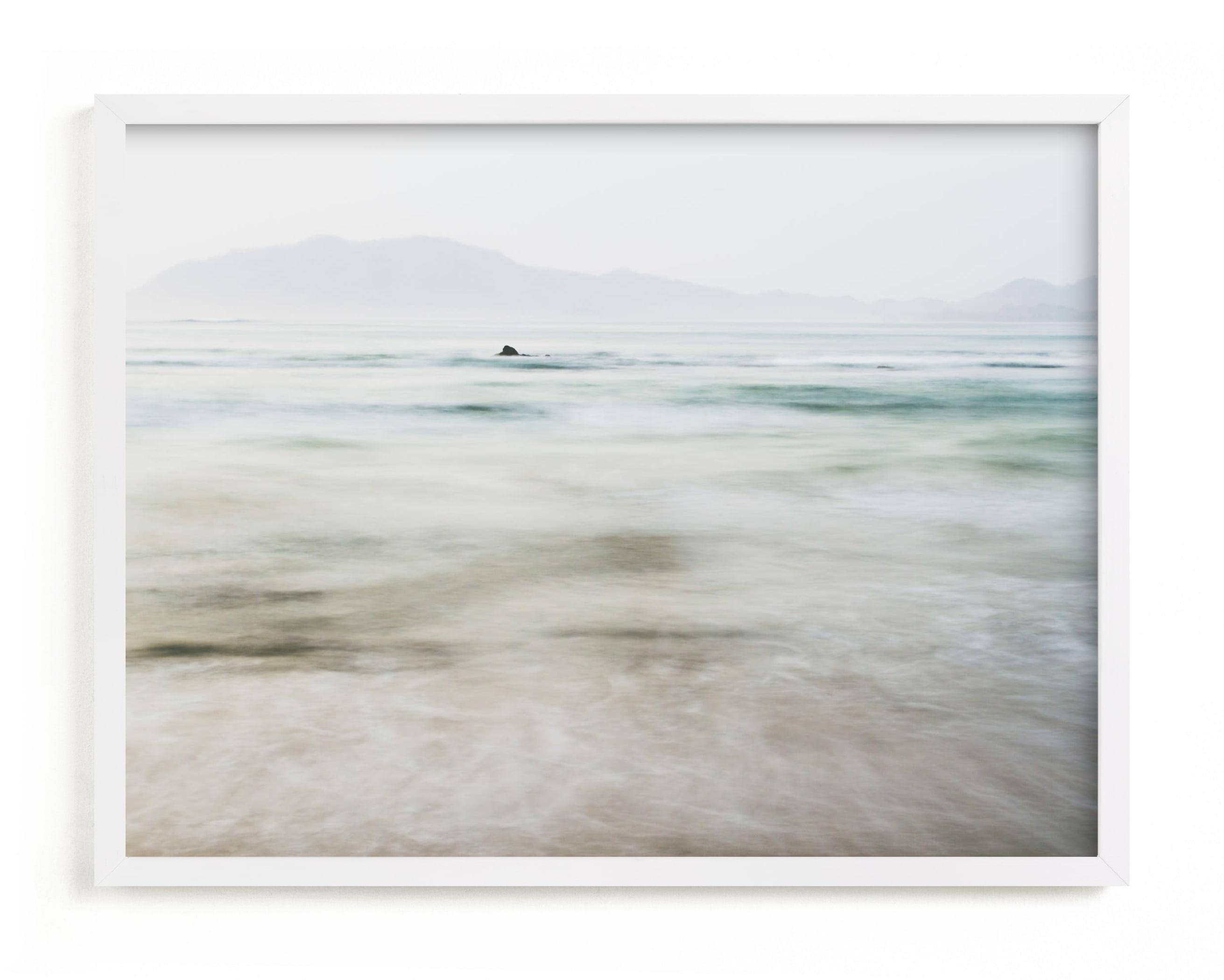 the pacific Art Print